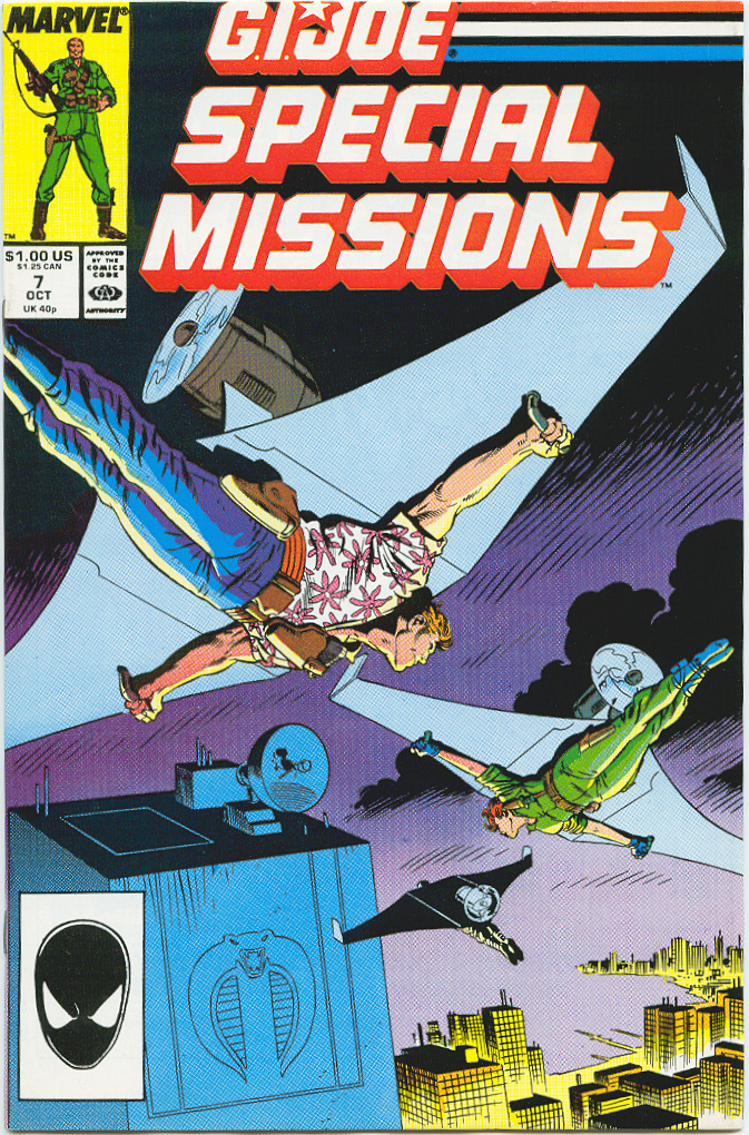 G.I. Joe Special Missions 7 Page 1