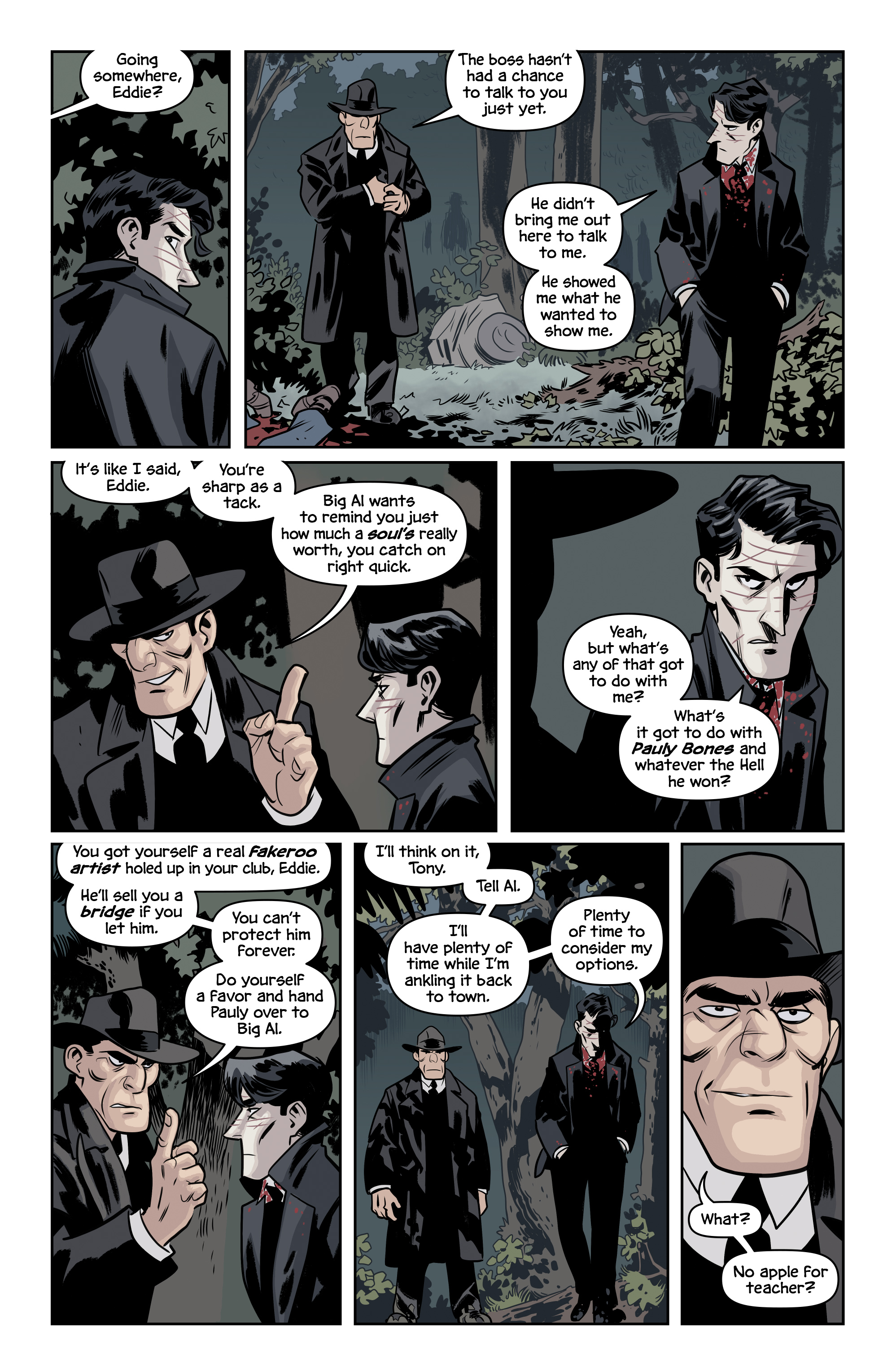 Read online The Damned comic -  Issue #2 - 16