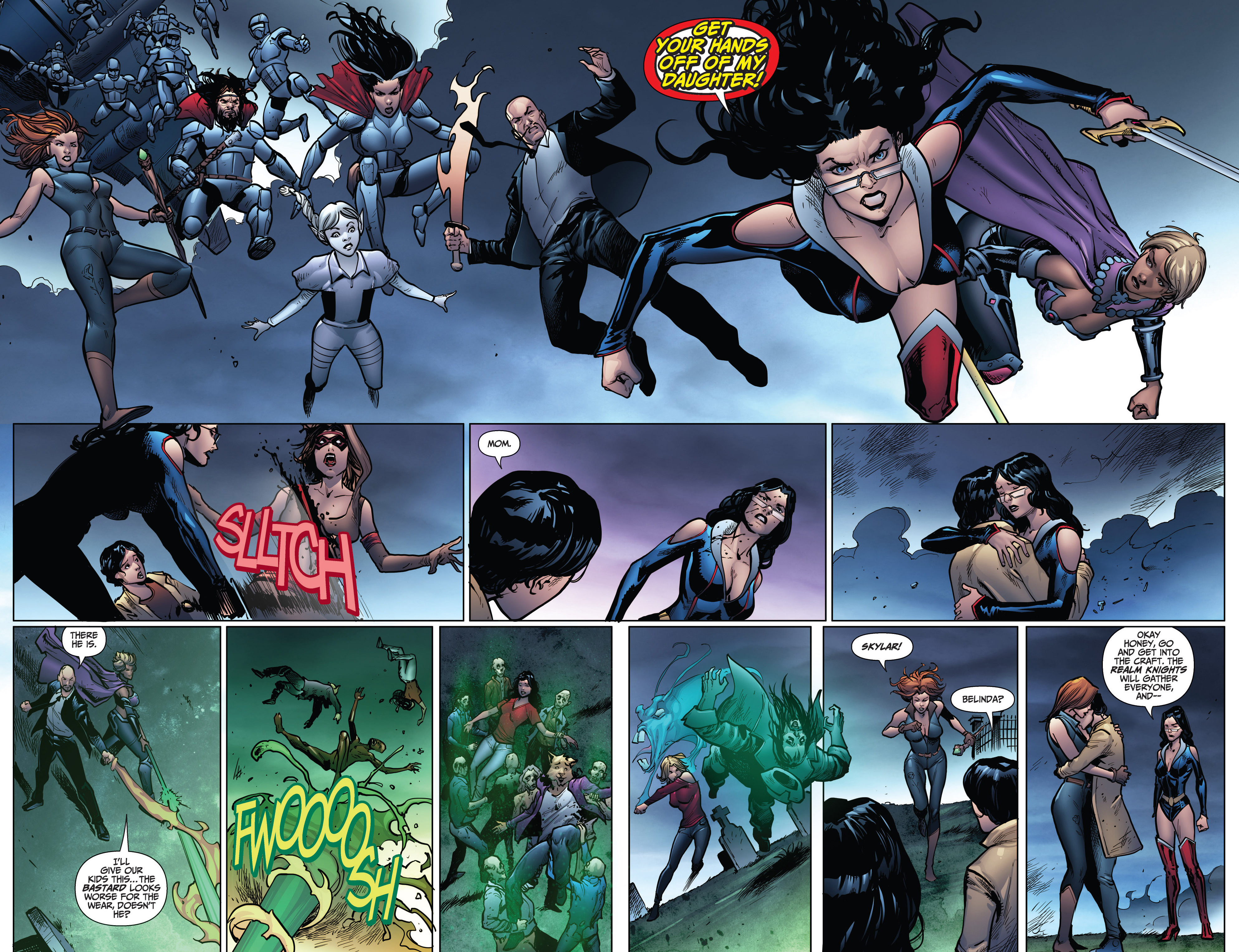 Read online Grimm Fairy Tales: Arcane Acre comic -  Issue # TPB 4 - 176