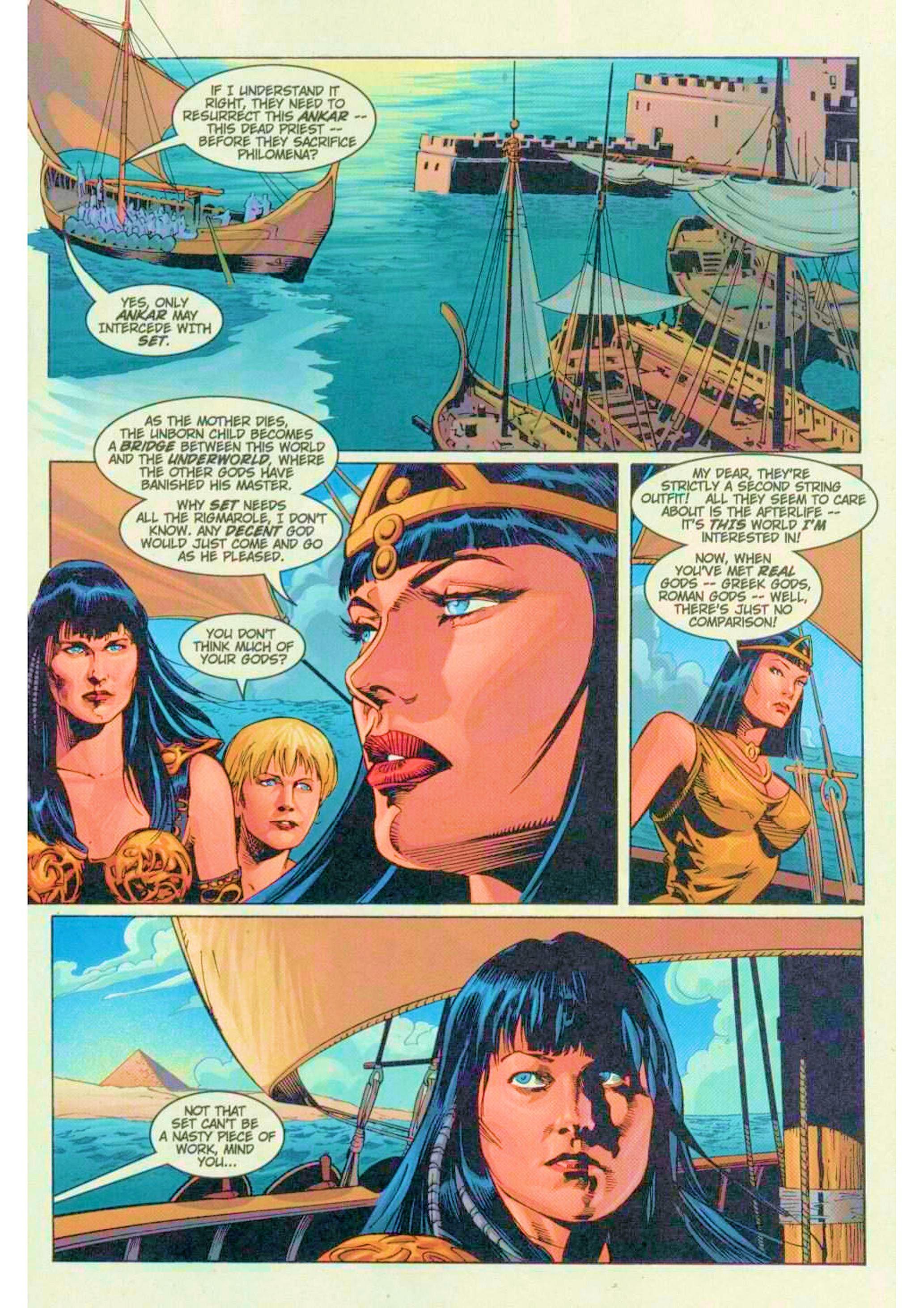Read online Xena: Warrior Princess (1999) comic -  Issue #6 - 7