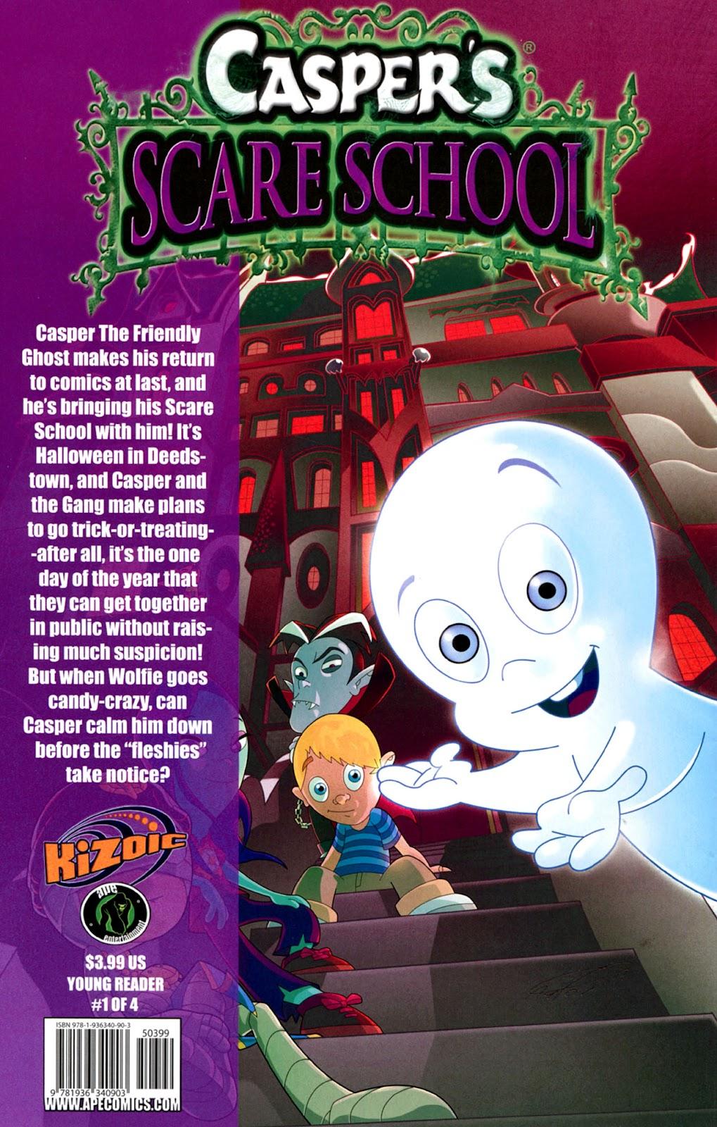 Read online Casper's Scare School comic -  Issue #1 - 28
