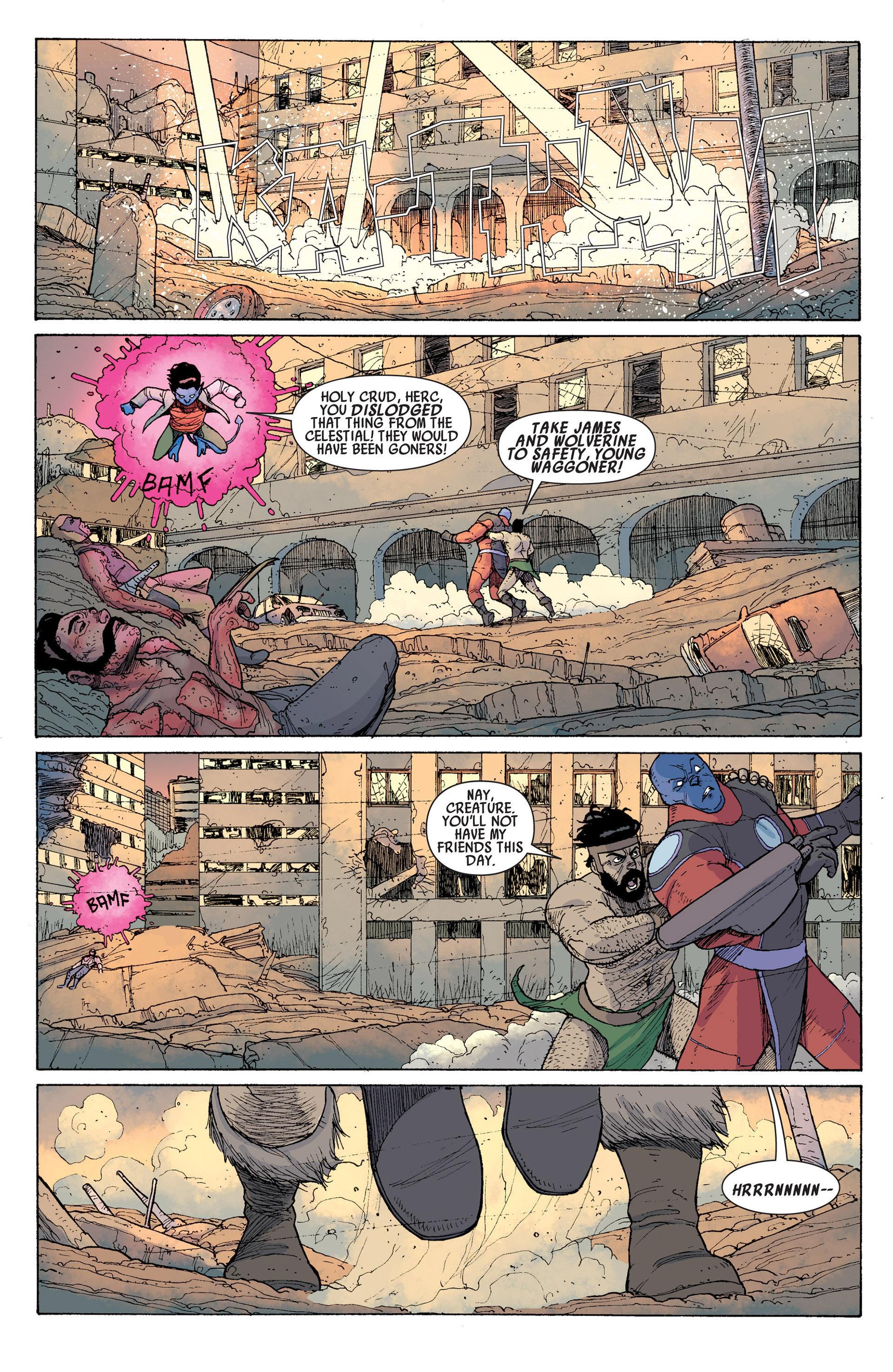 Read online Age of Apocalypse (2012) comic -  Issue #14 - 11