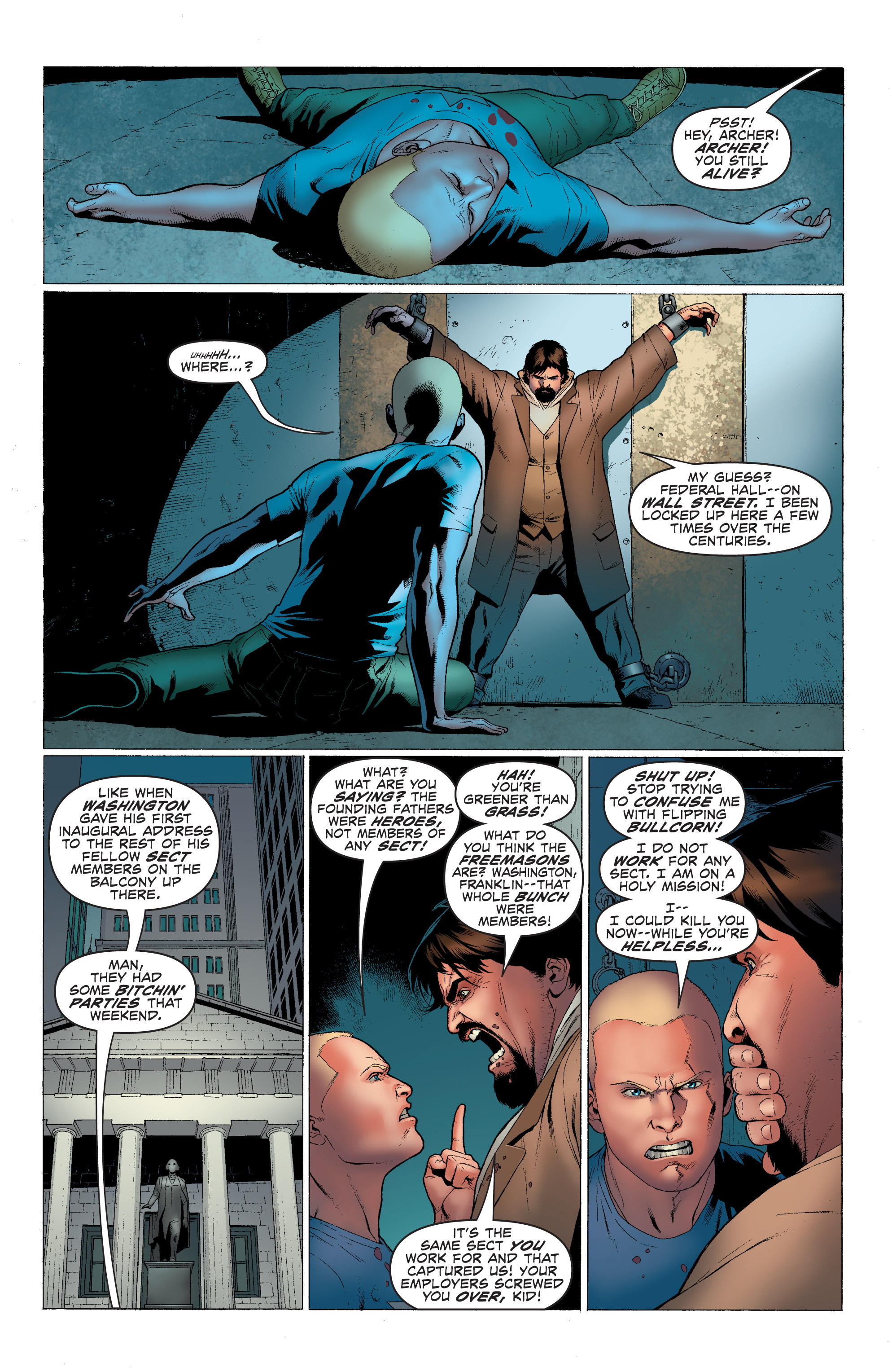 Read online Archer and Armstrong comic -  Issue #Archer and Armstrong _TPB 1 - 26