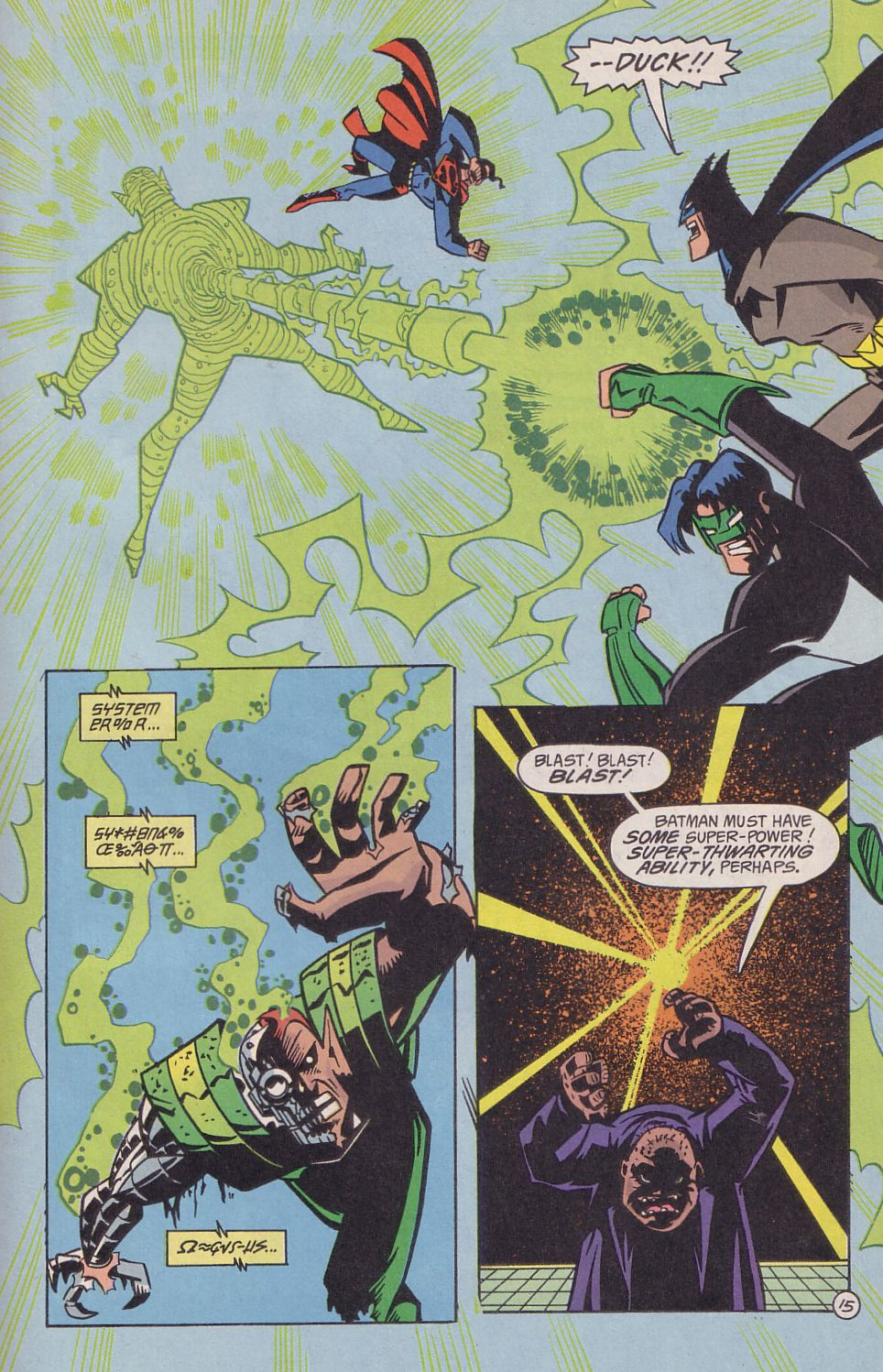 Read online Adventures in the DC Universe comic -  Issue #18 - 16