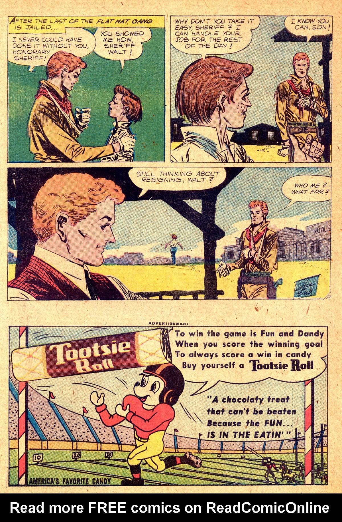 Read online All-Star Western (1951) comic -  Issue #104 - 12