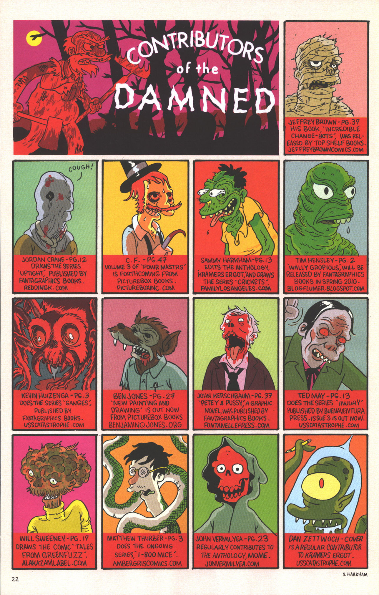 Read online Treehouse of Horror comic -  Issue #15 - 25