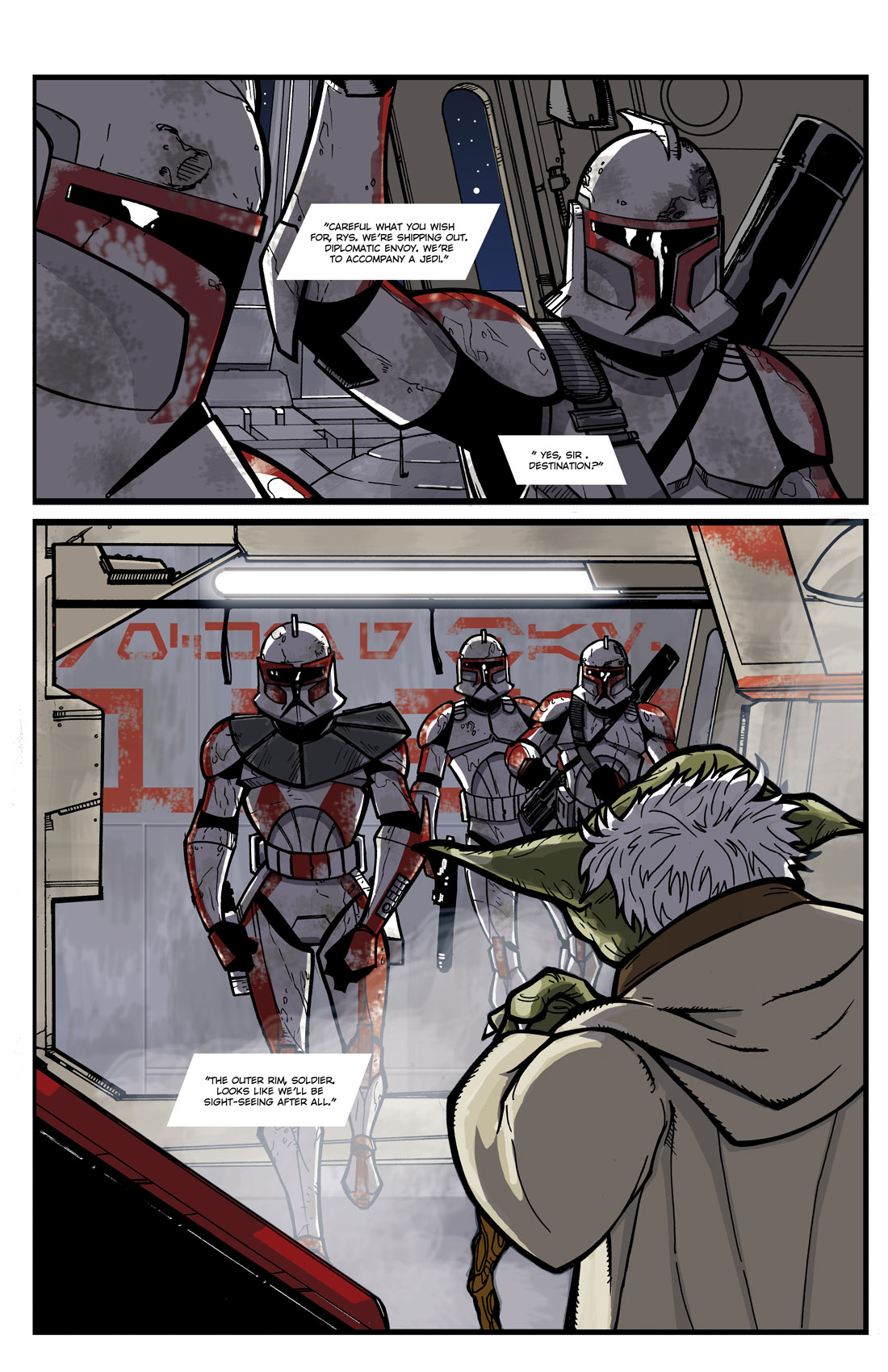 Read online Star Wars: Tales From The Clone Wars comic -  Issue # TPB - 9