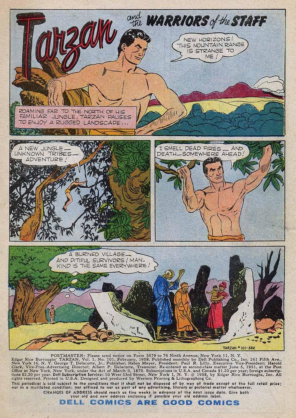 Tarzan (1948) issue 101 - Page 3