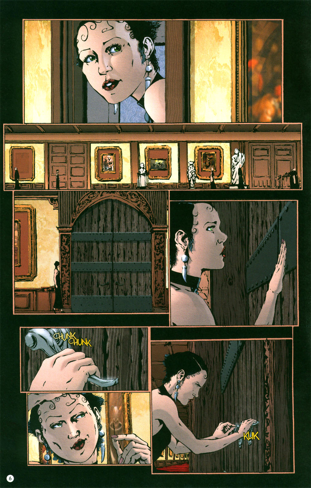 Read online Rex Mundi comic -  Issue #4 - 8