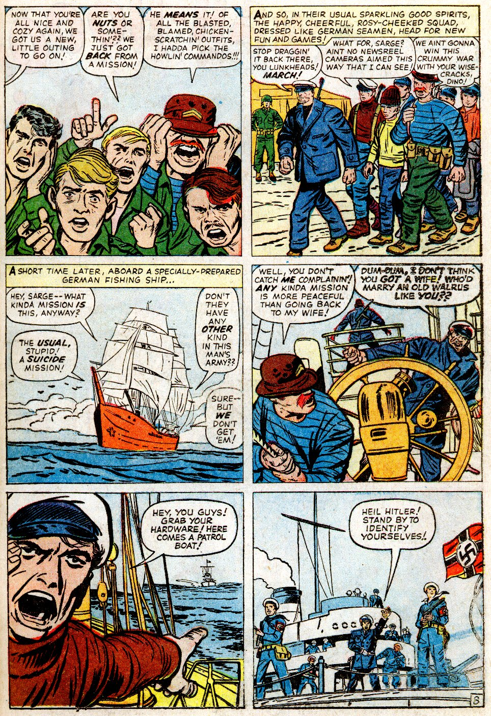 Read online Sgt. Fury comic -  Issue #2 - 11