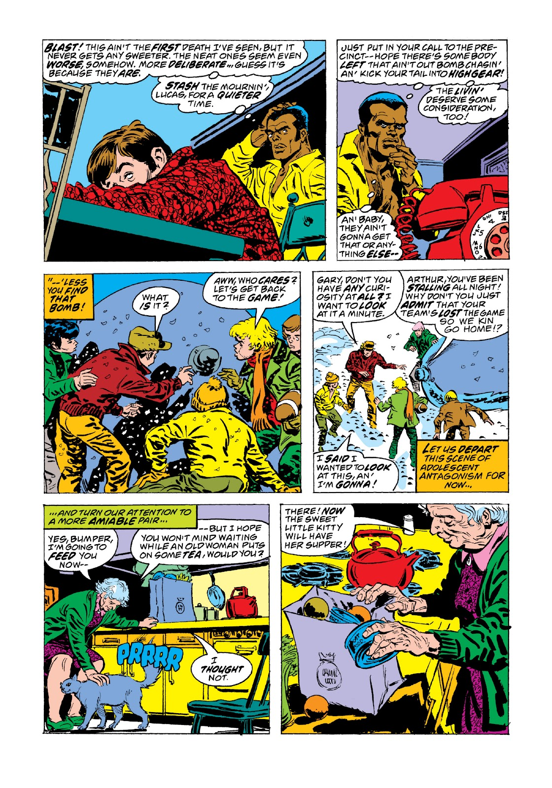 Read online Marvel Masterworks: Luke Cage, Power Man comic -  Issue # TPB 3 (Part 3) - 90