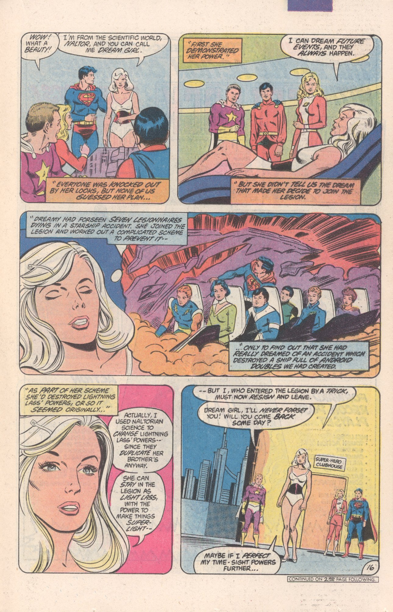 Legion of Super-Heroes (1980) 306 Page 16