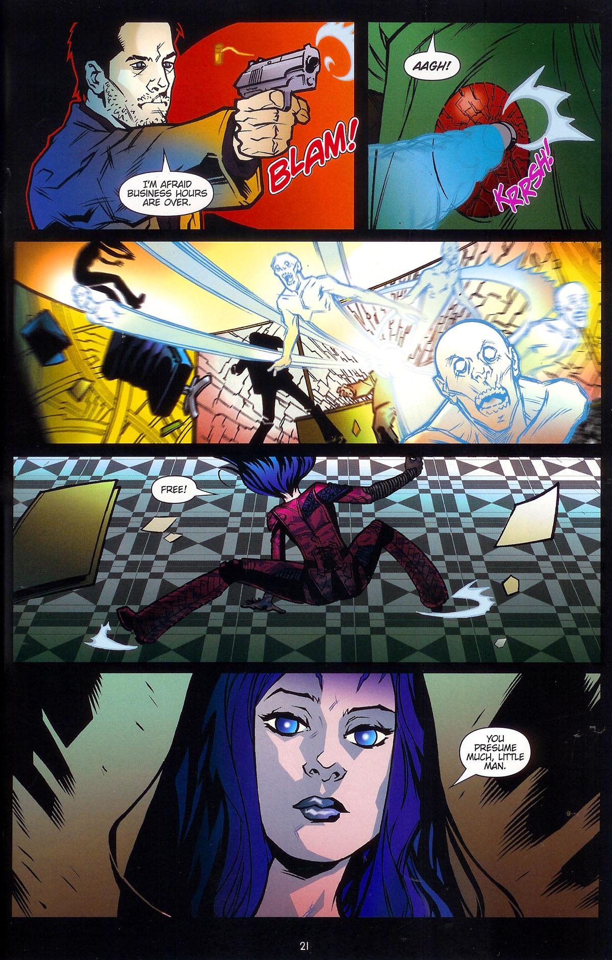 Read online Angel: Masks comic -  Issue # Full - 23