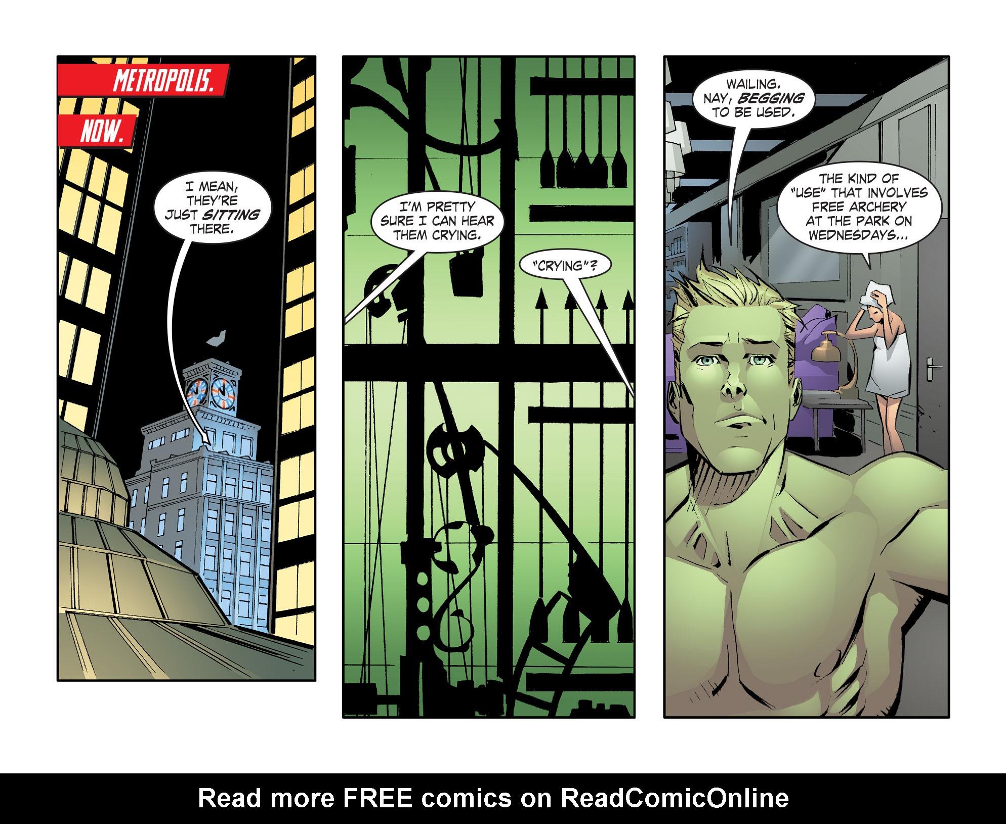 Read online Smallville: Lantern [I] comic -  Issue #1 - 11