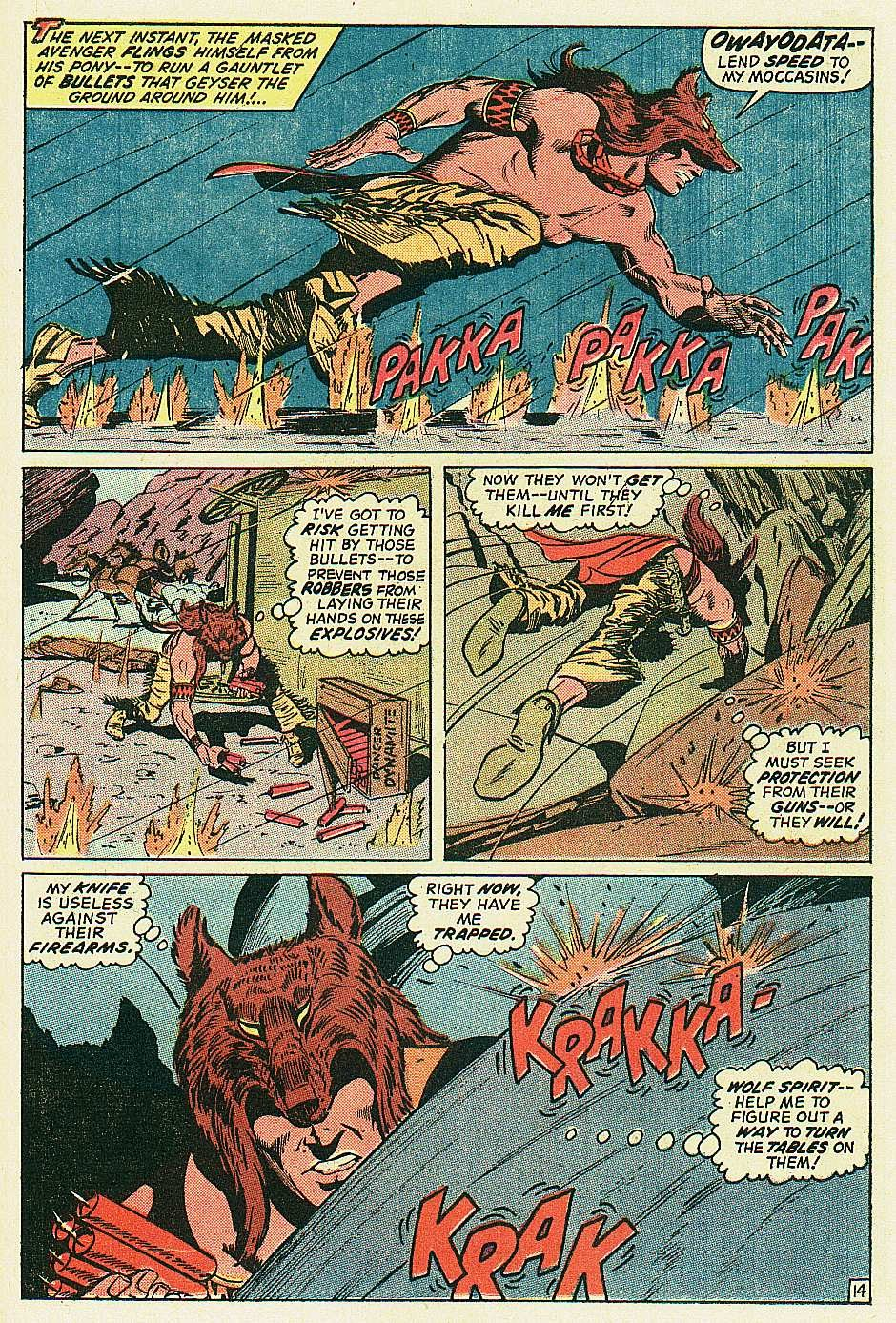 Red Wolf (1972) issue 2 - Page 15