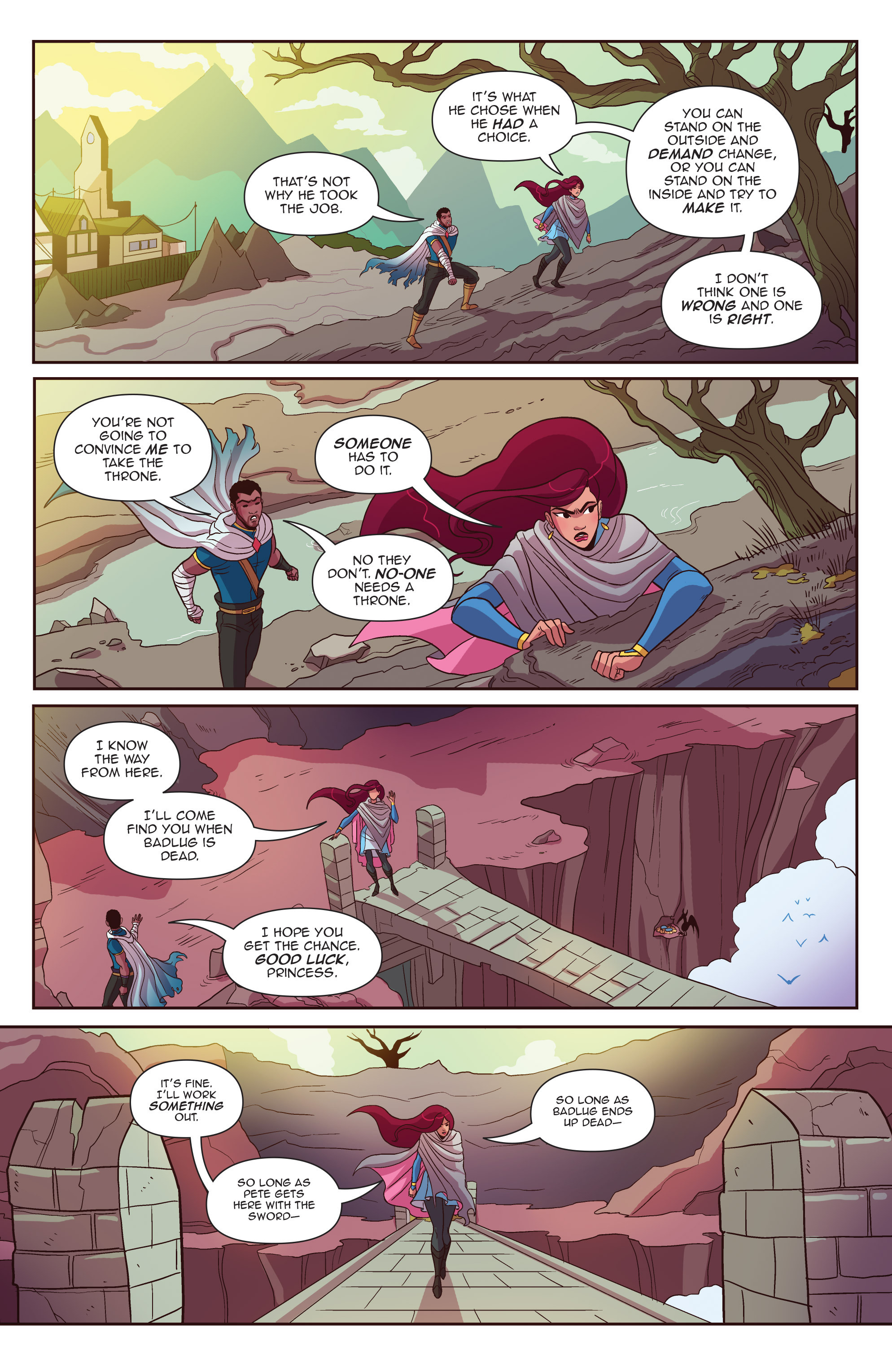 Read online Another Castle comic -  Issue #4 - 8
