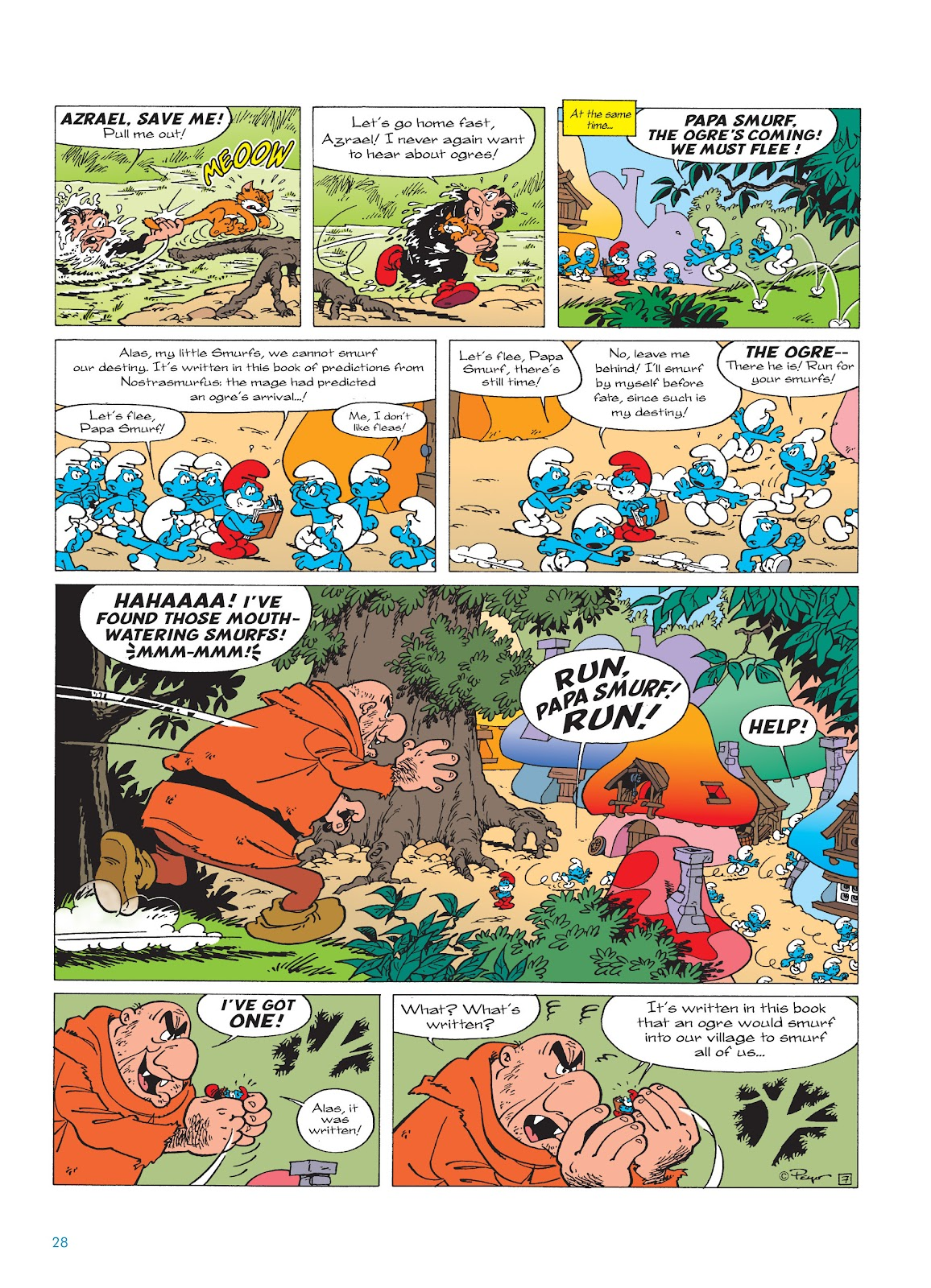 Read online The Smurfs comic -  Issue #17 - 28