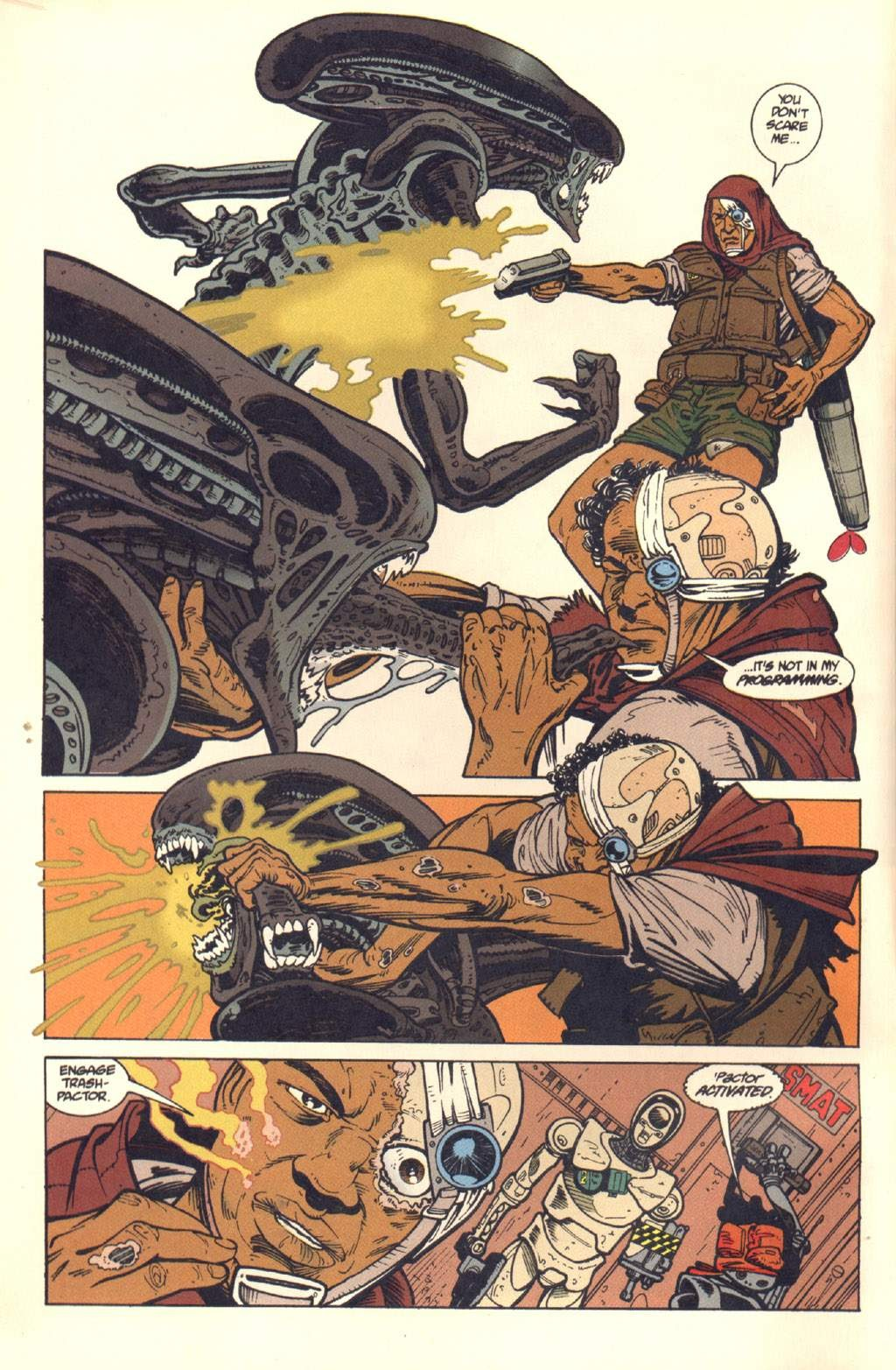 Read online Aliens: Colonial Marines comic -  Issue #7 - 5