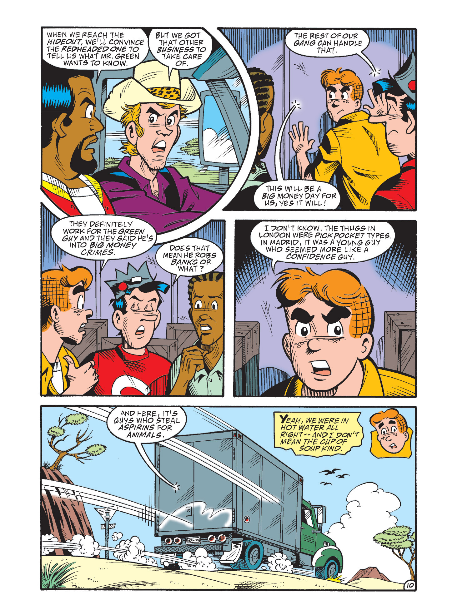 Read online Archie's Funhouse Double Digest comic -  Issue #3 - 46