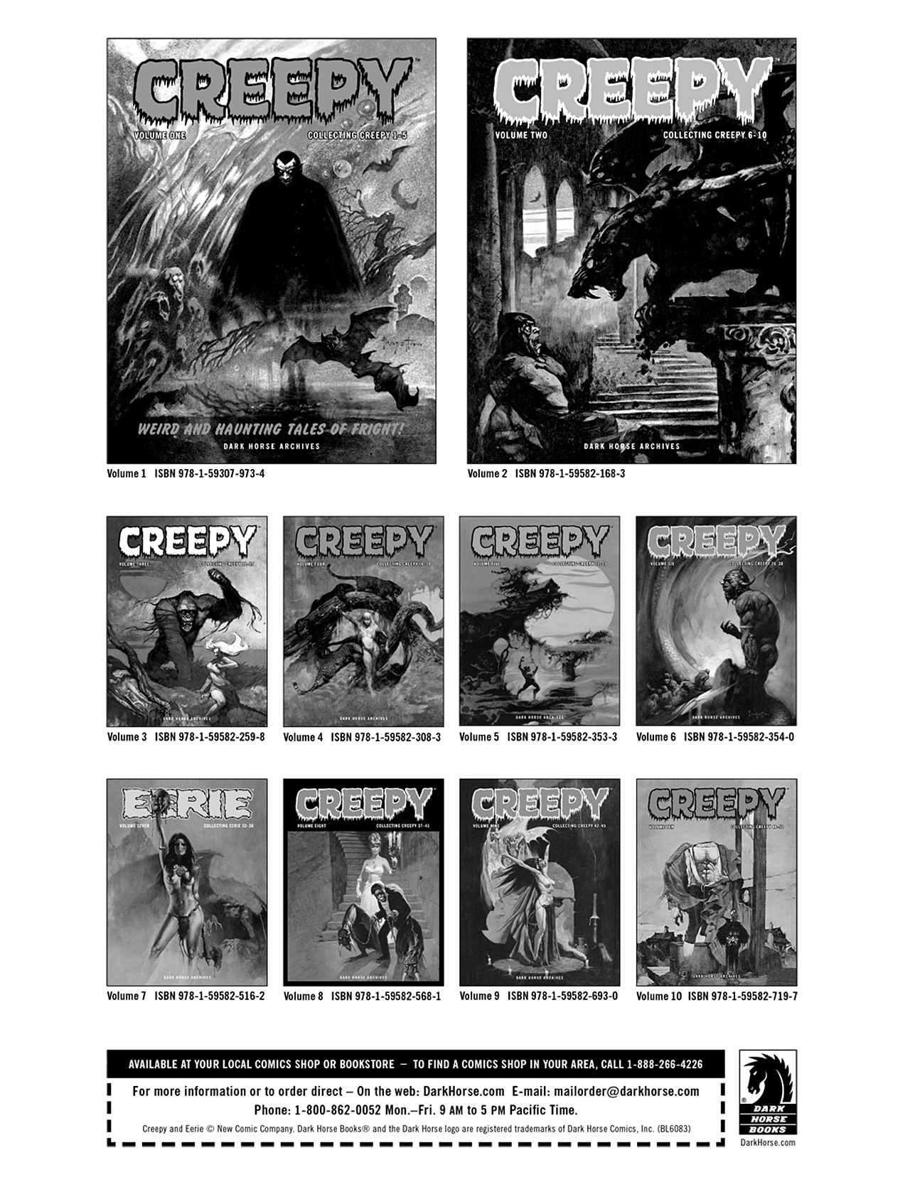 Read online Eerie Archives comic -  Issue # TPB 8 - 311
