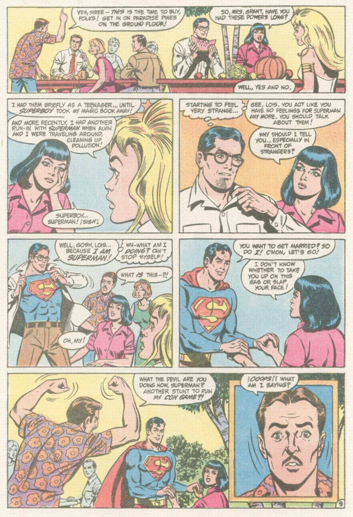 Read online Action Comics (1938) comic -  Issue #567 - 10