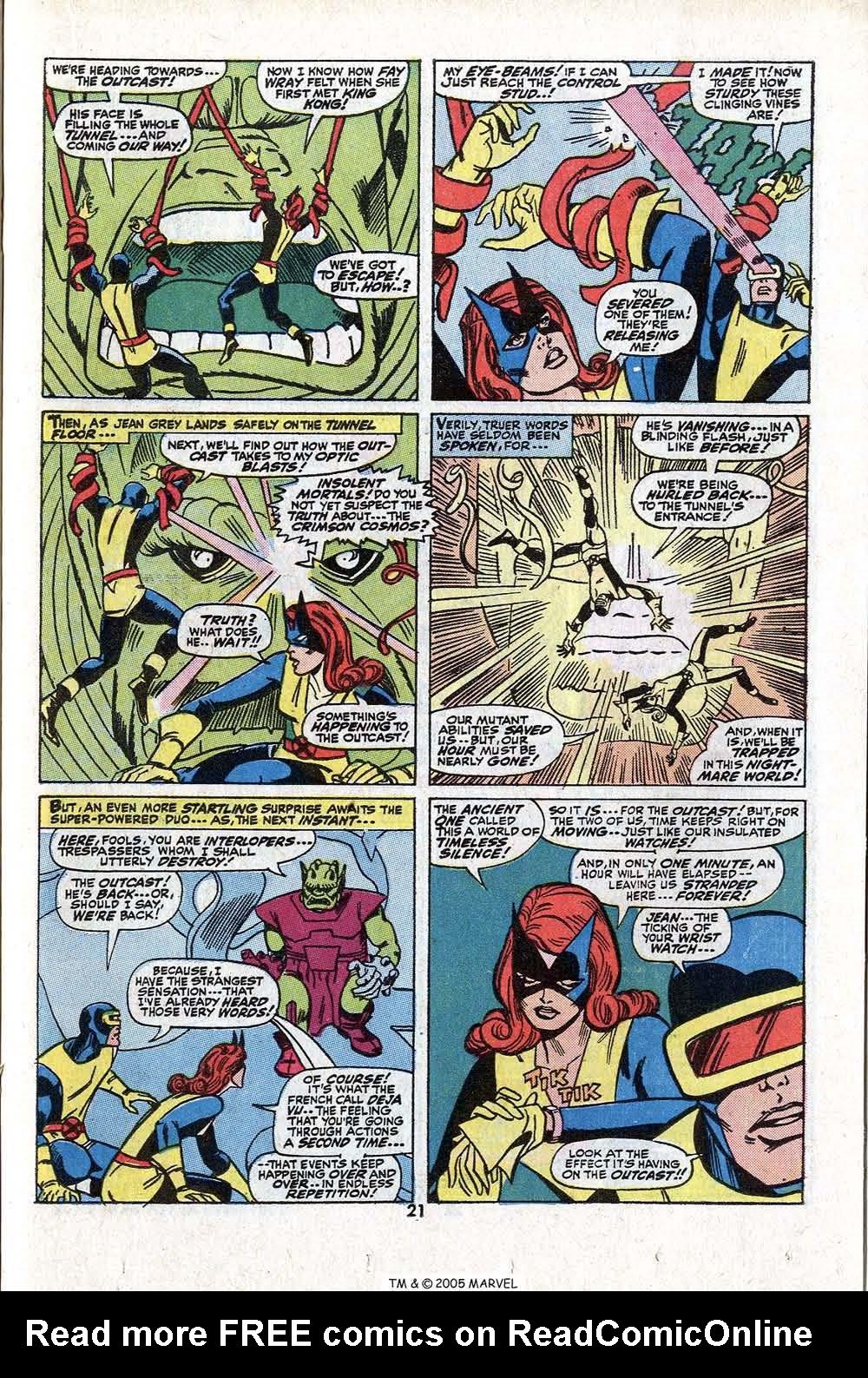 Read online Uncanny X-Men (1963) comic -  Issue #81 - 23