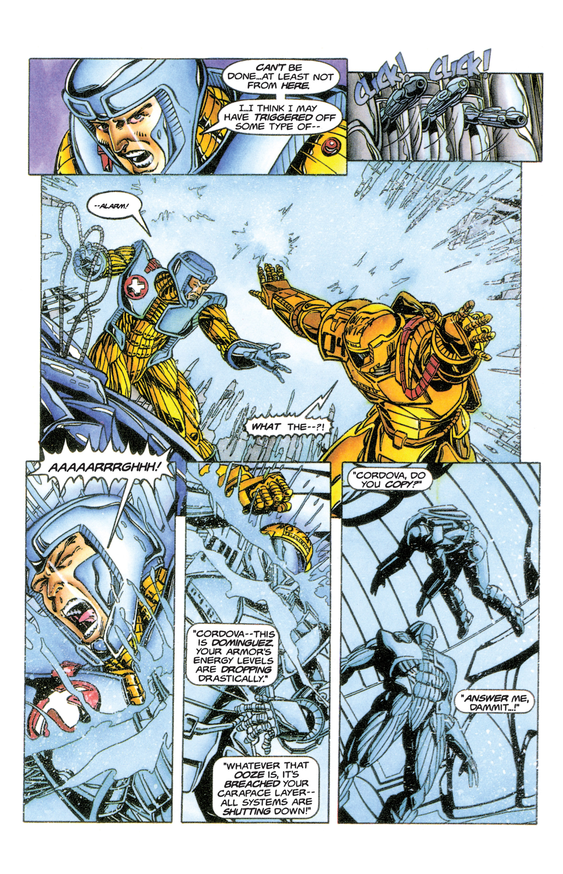 Read online Armorines comic -  Issue #6 - 16