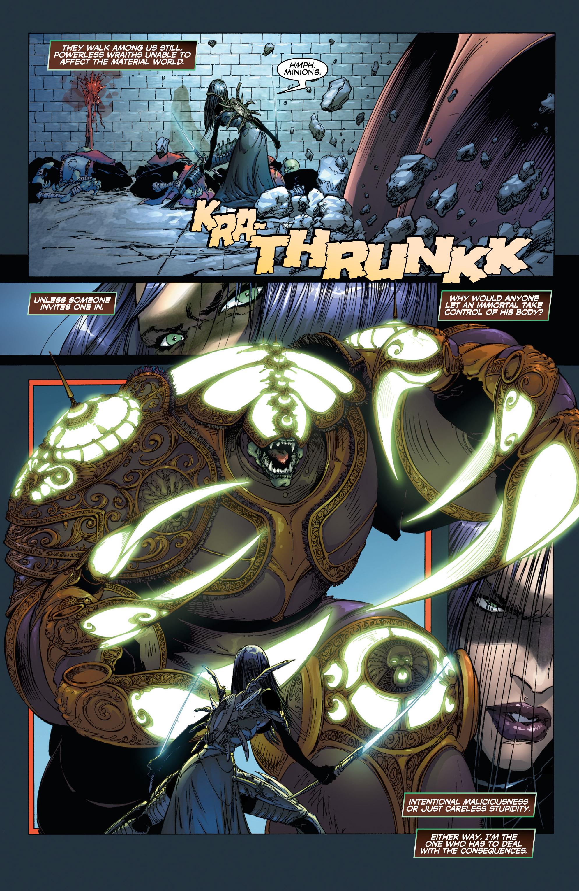 Read online Wraithborn Redux comic -  Issue #1 - 7