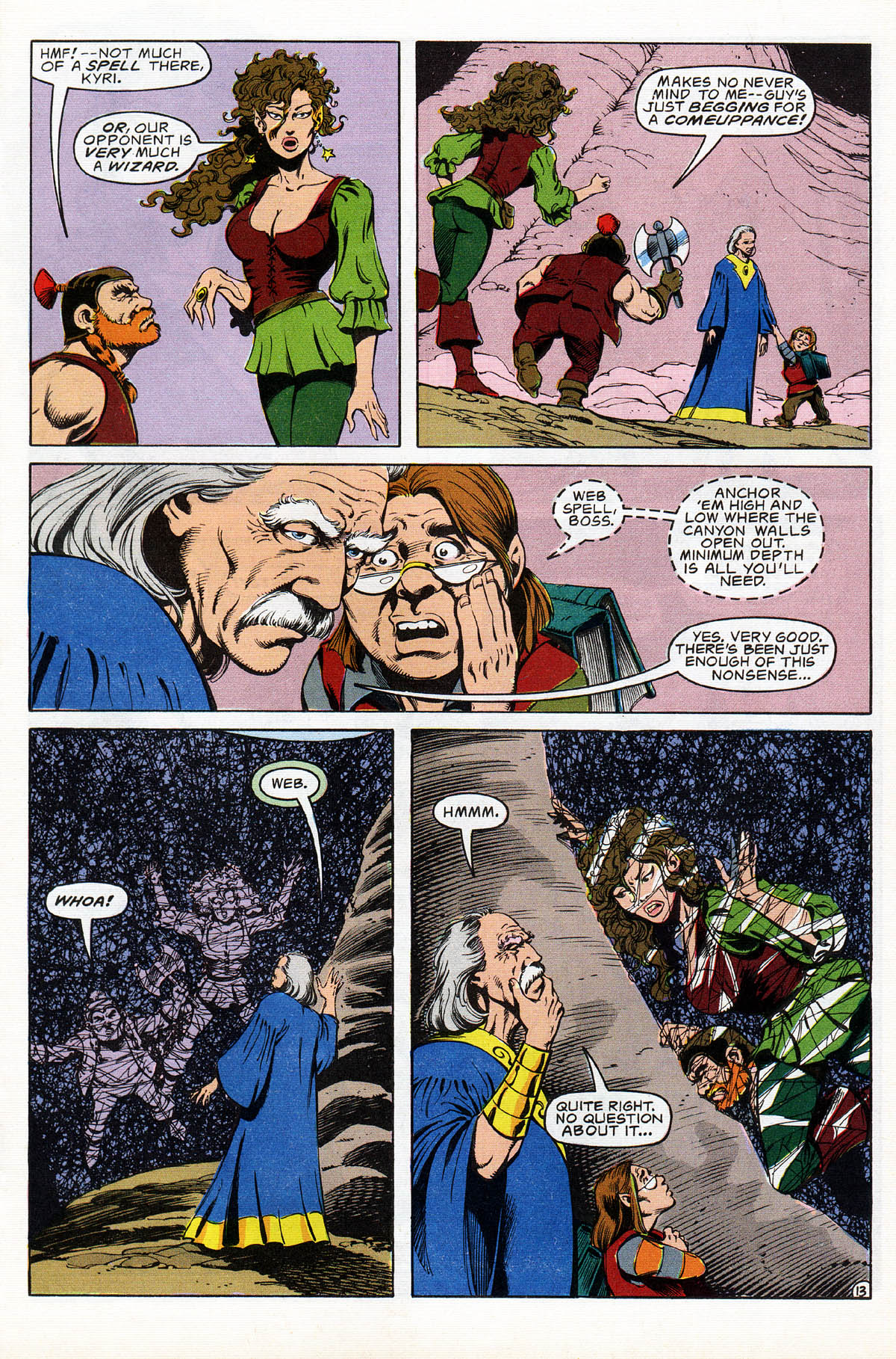 Read online Advanced Dungeons & Dragons comic -  Issue #17 - 16