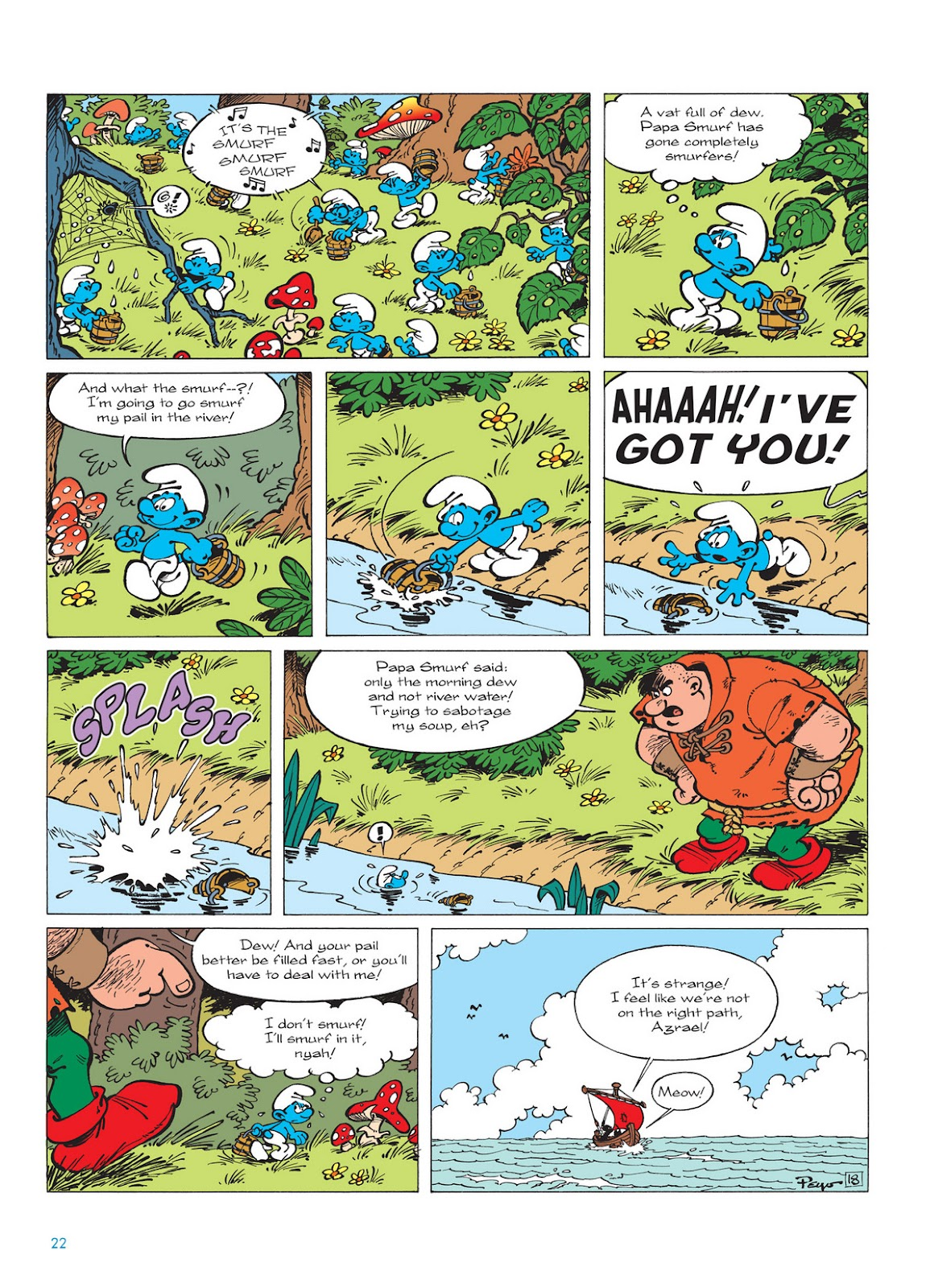 Read online The Smurfs comic -  Issue #13 - 22
