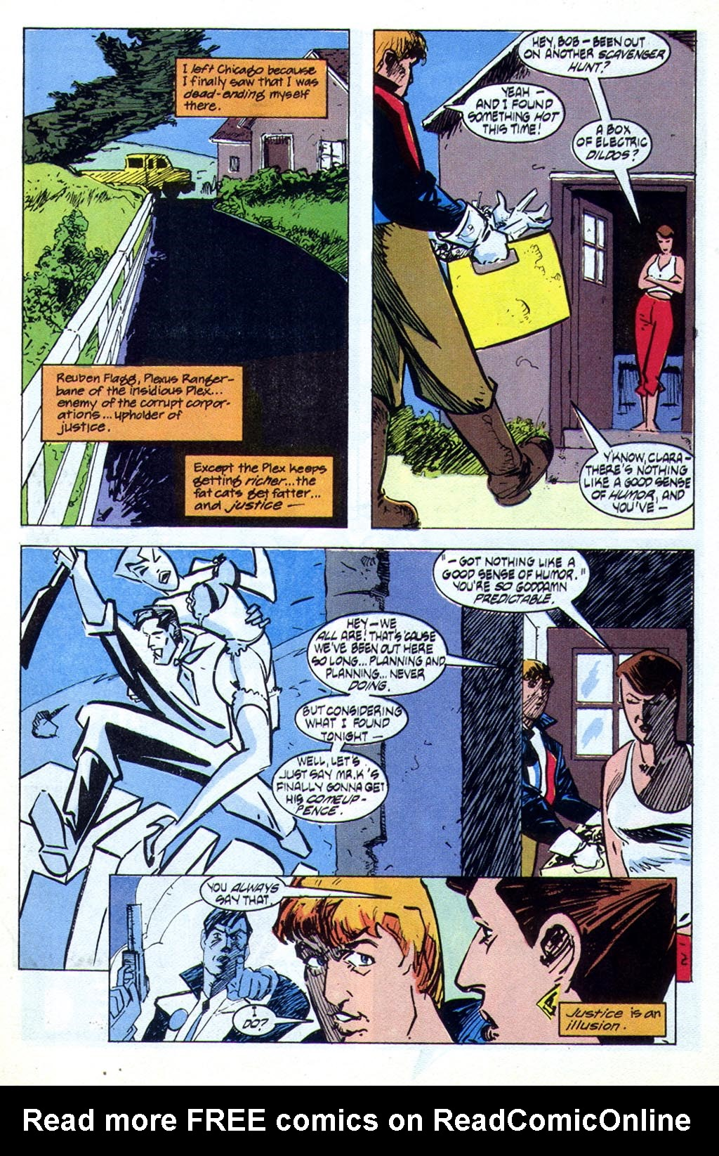 Read online American Flagg! comic -  Issue #44 - 9