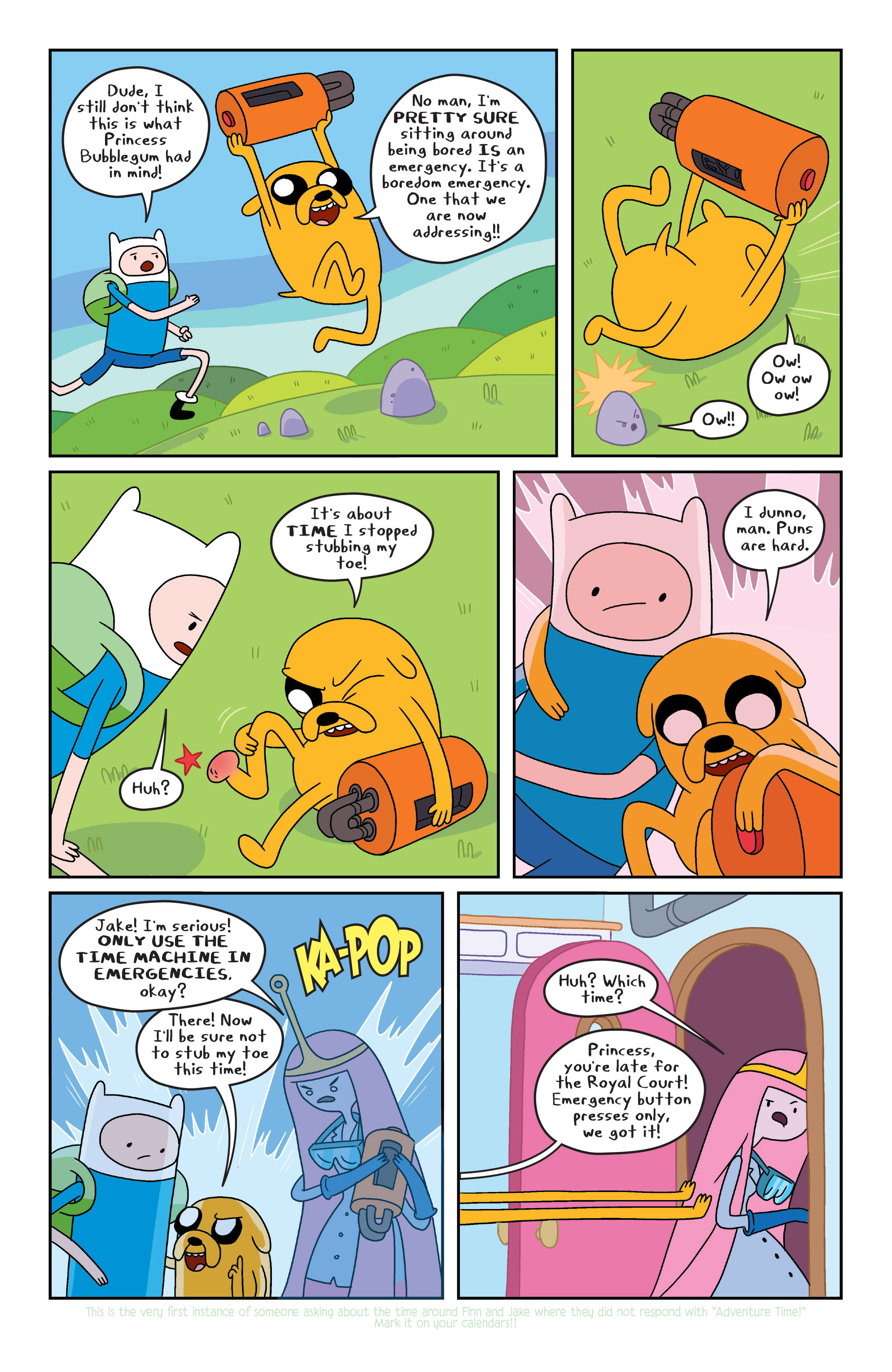 Read online Adventure Time comic -  Issue #Adventure Time _TPB 2 - 36