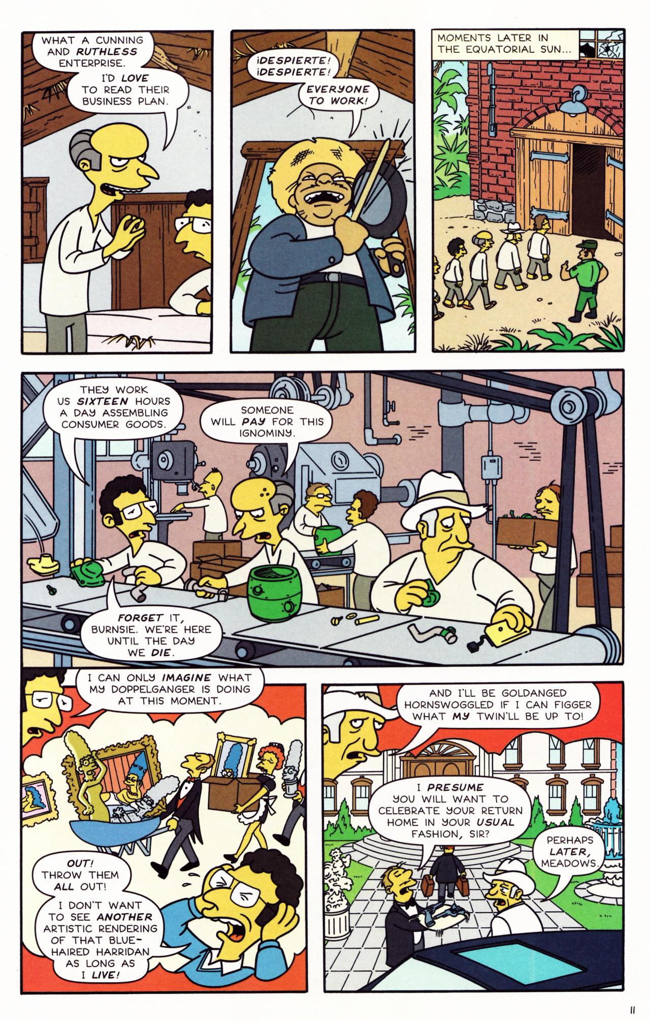 Read online Simpsons Comics comic -  Issue #132 - 11