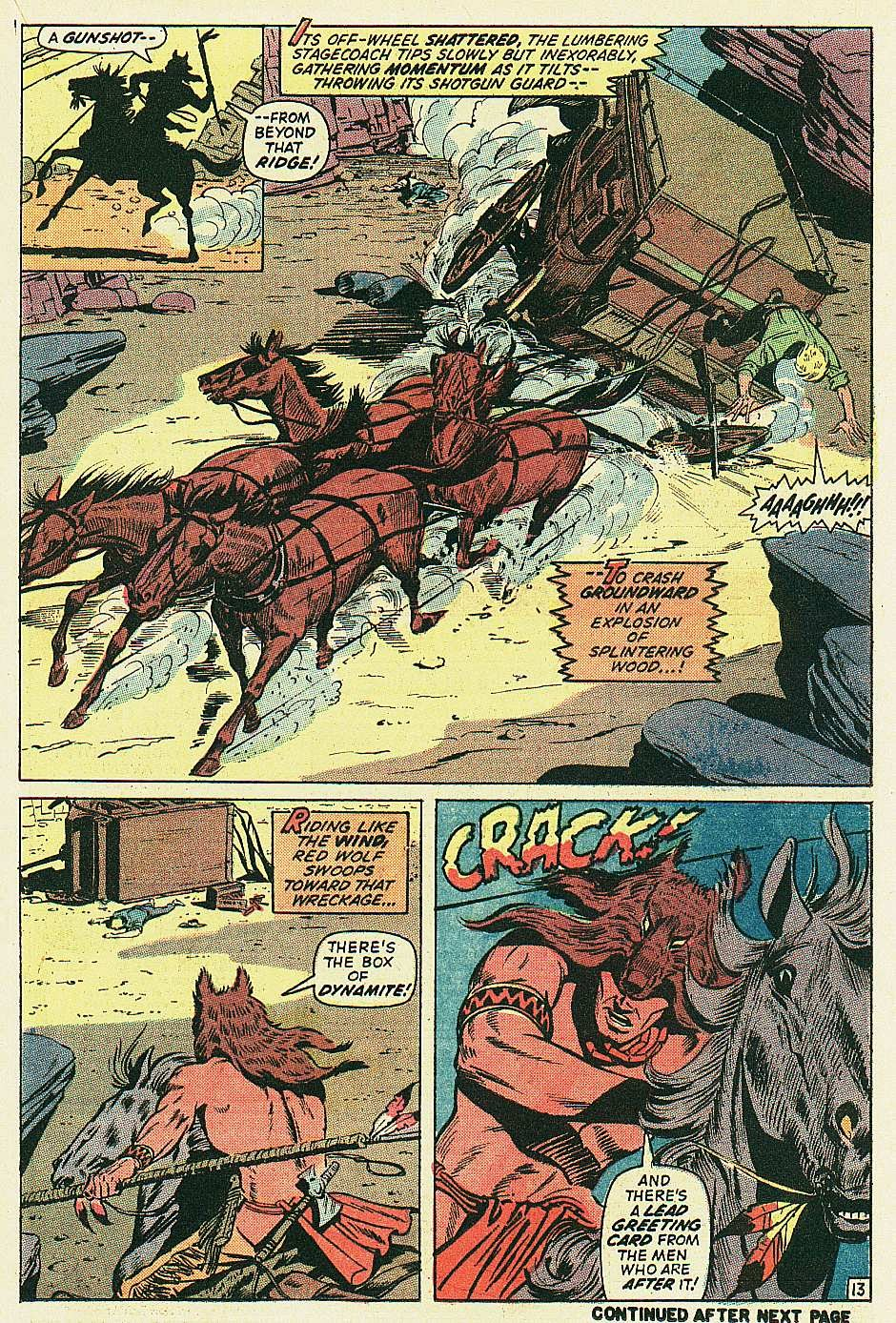 Red Wolf (1972) issue 2 - Page 14