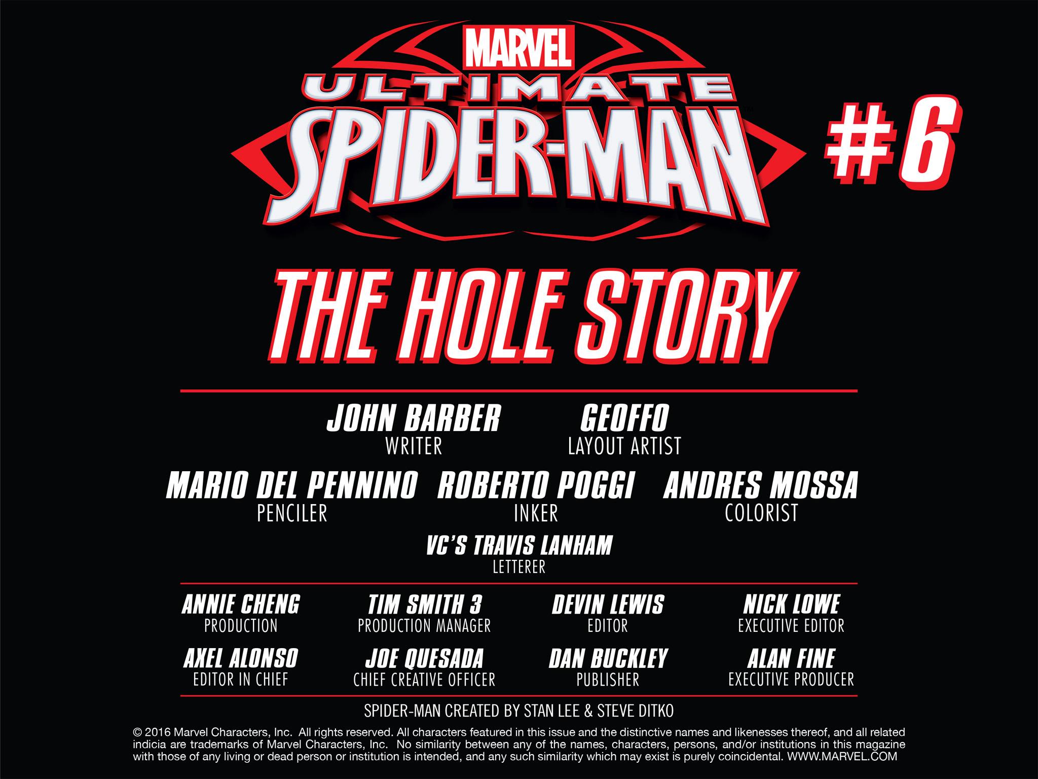 Read online Ultimate Spider-Man (Infinite Comics) (2016) comic -  Issue #6 - 11