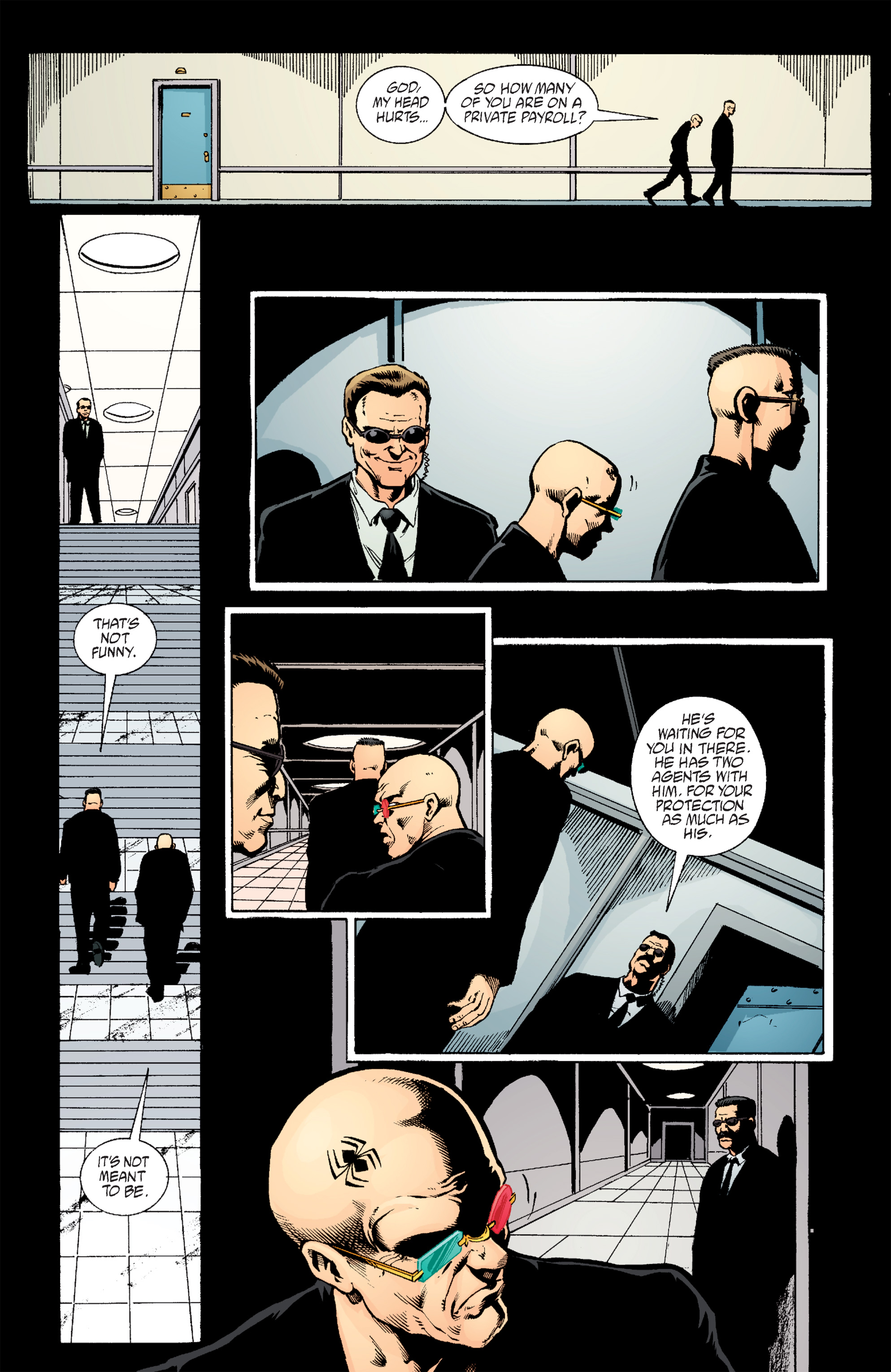 Read online Transmetropolitan comic -  Issue #59 - 12