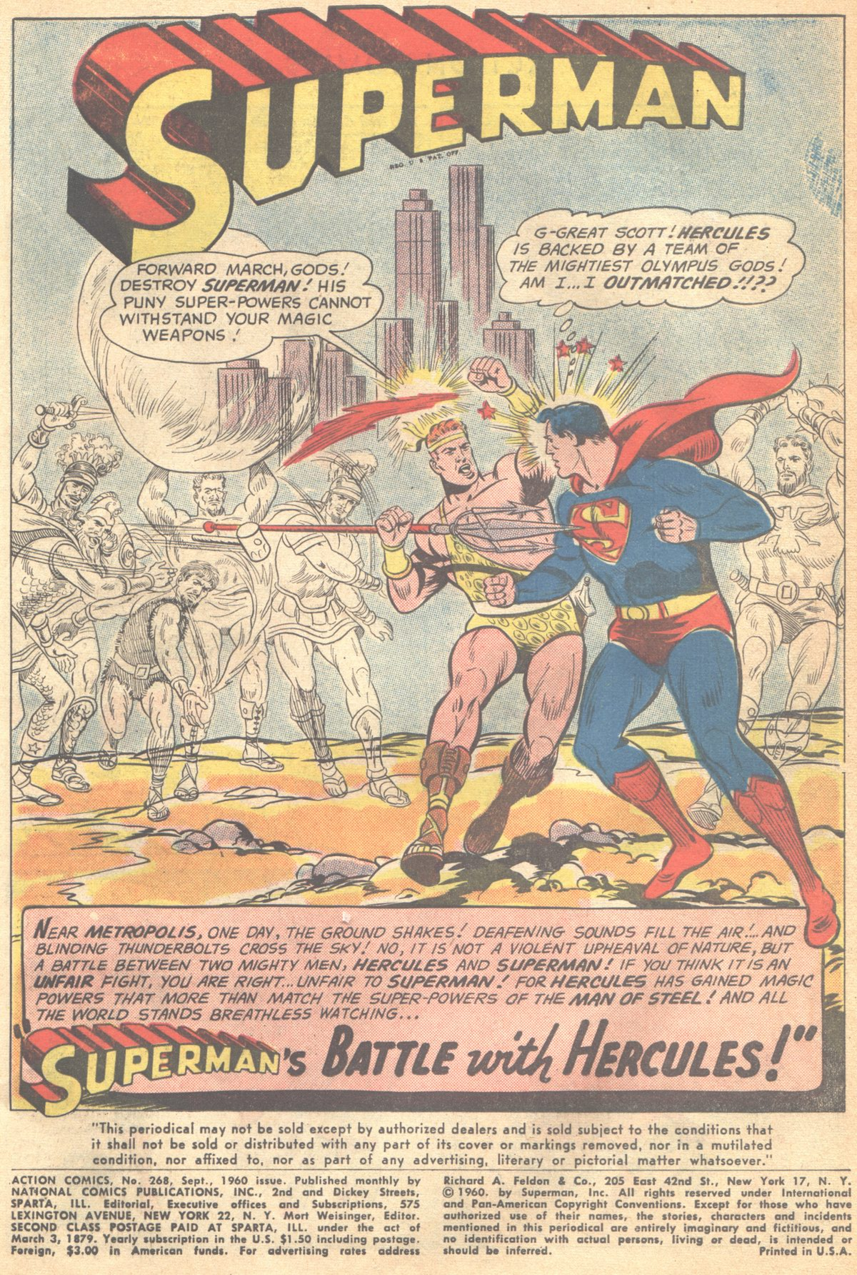 Read online Action Comics (1938) comic -  Issue #268 - 3