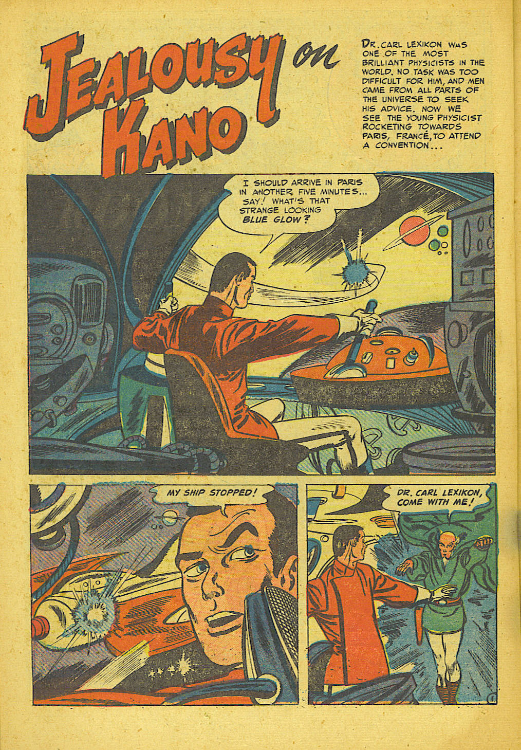 Read online Space Adventures comic -  Issue #16 - 18