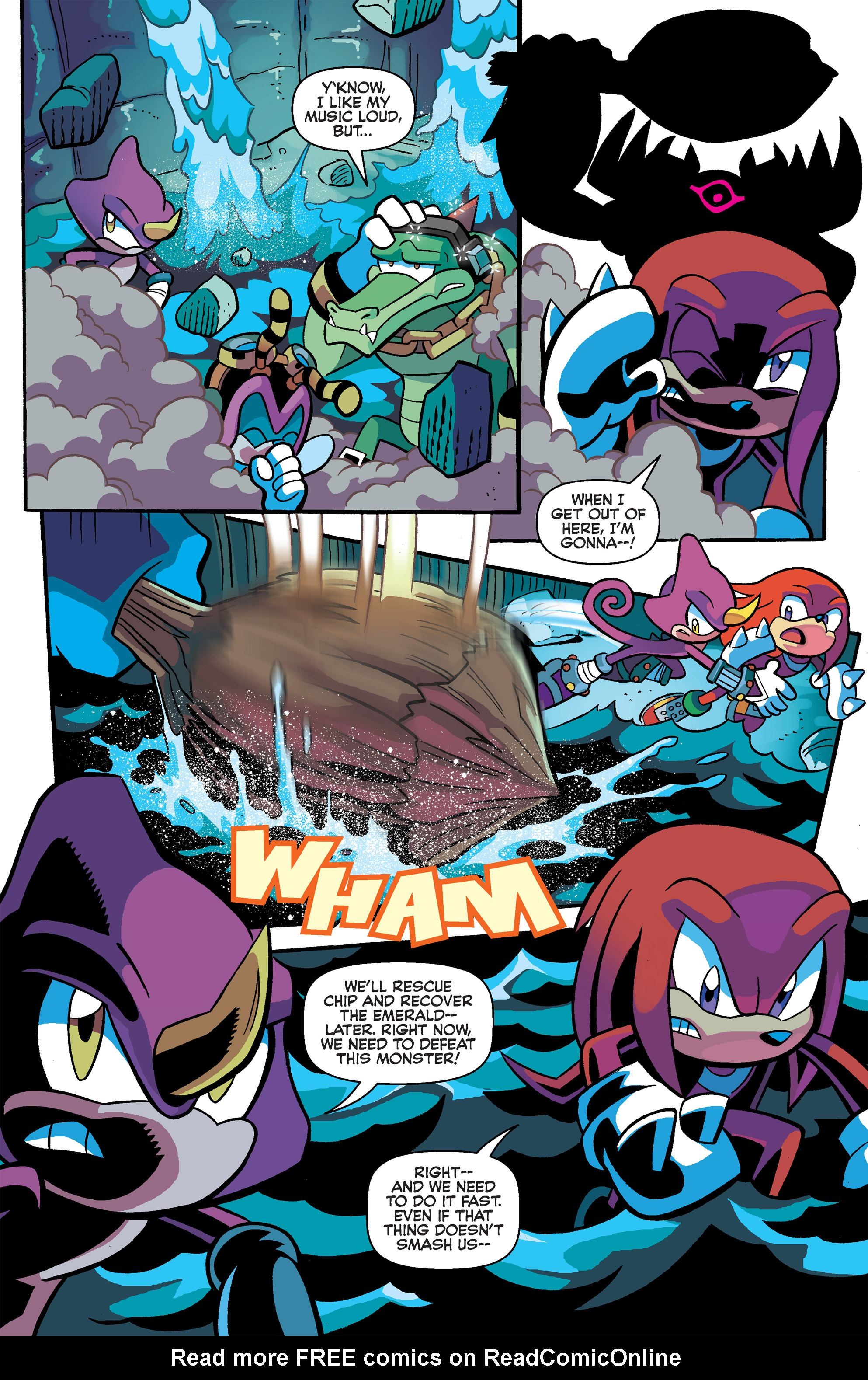 Read online Sonic Universe comic -  Issue #65 - 21