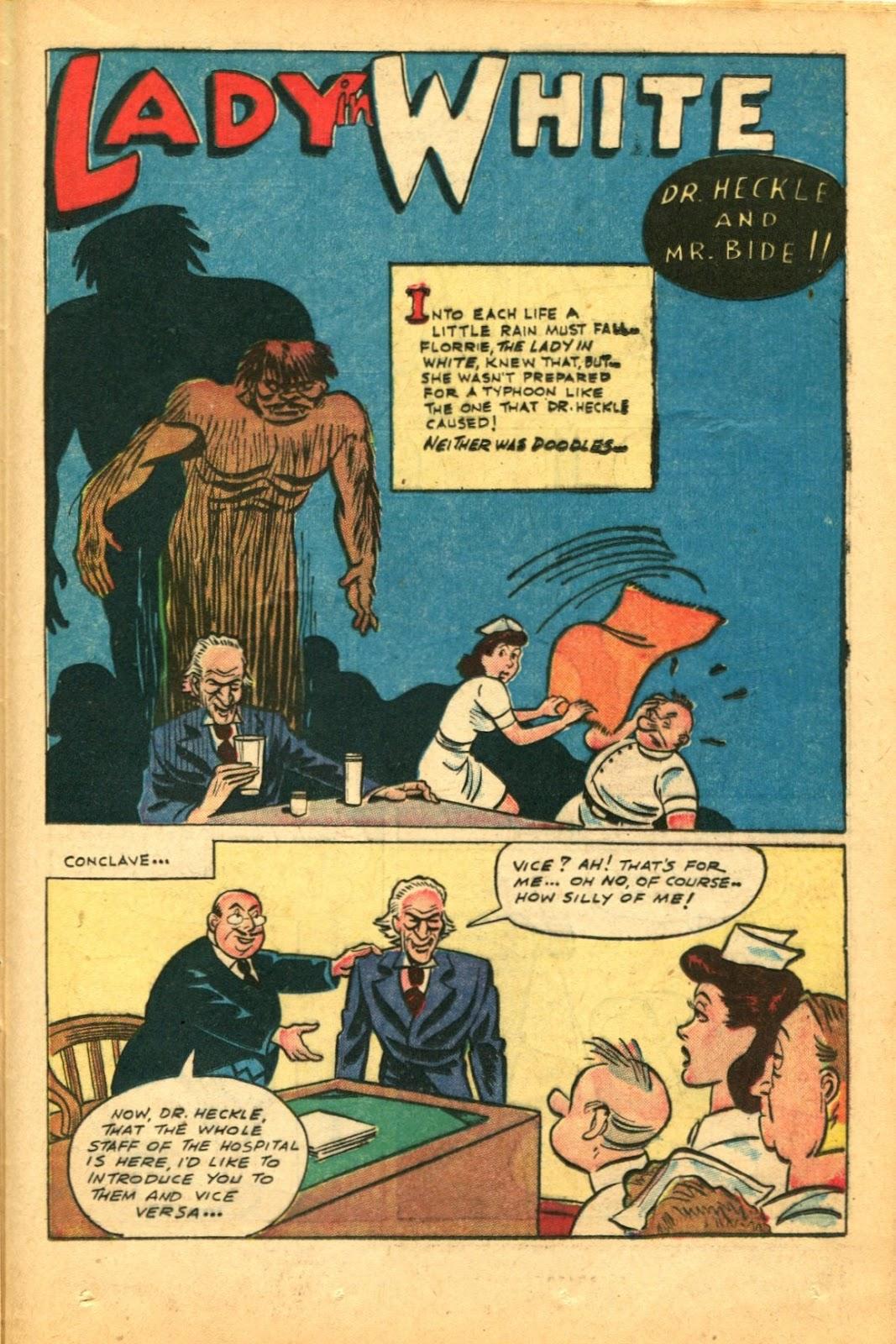 Read online Super-Magician Comics comic -  Issue #49 - 35