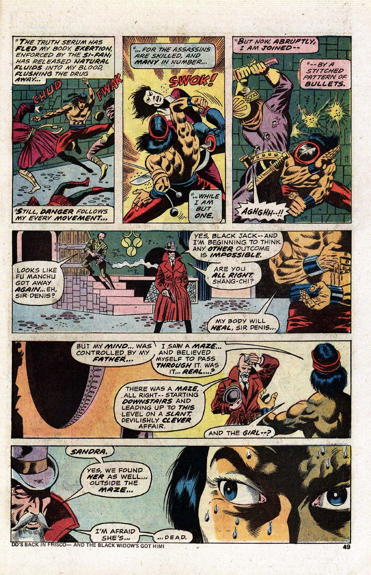 Read online Giant-Size Master of Kung Fu comic -  Issue #2 - 42