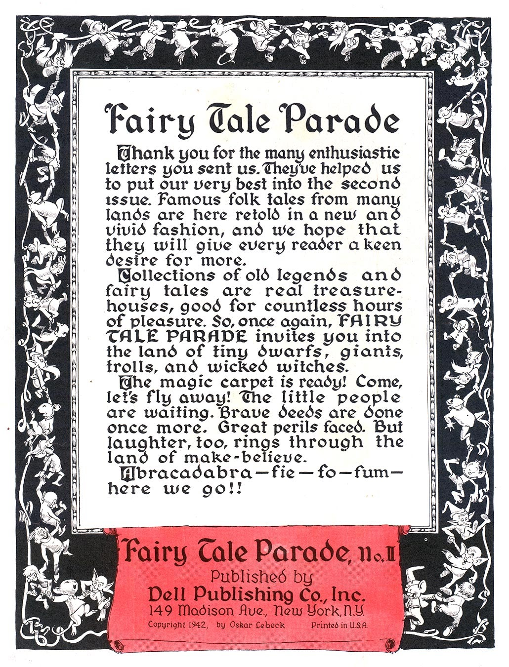 Fairy Tale Parade issue 2 - Page 2