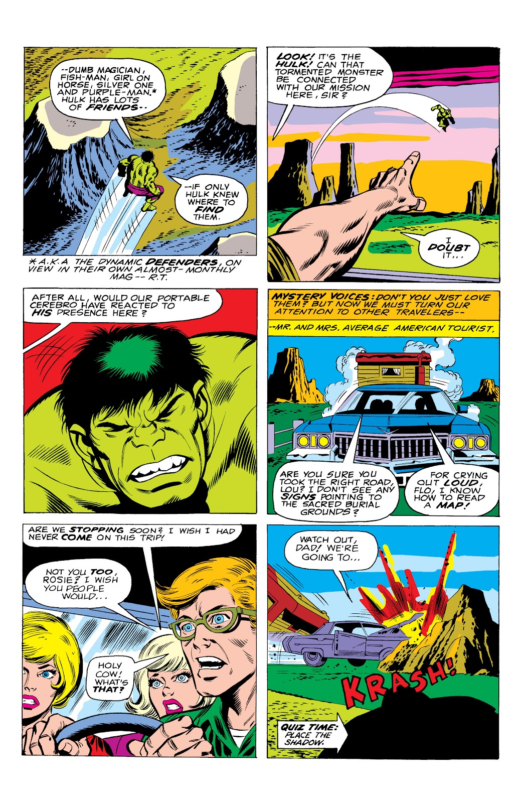 Read online Marvel Masterworks: The Incredible Hulk comic -  Issue # TPB 10 (Part 1) - 42