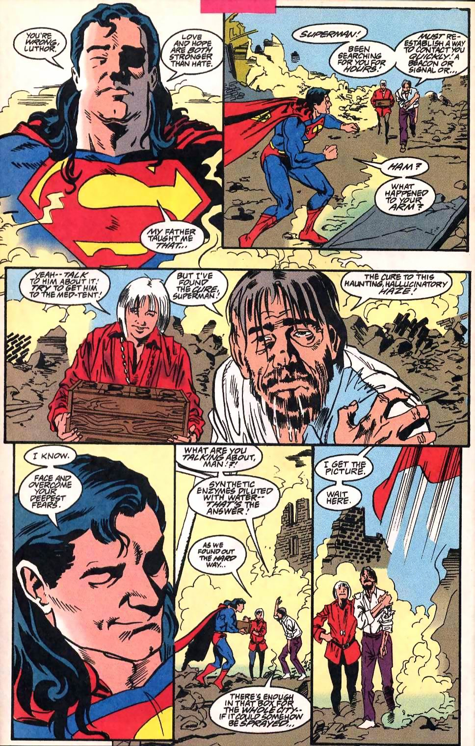 Read online Adventures of Superman (1987) comic -  Issue #514 - 19