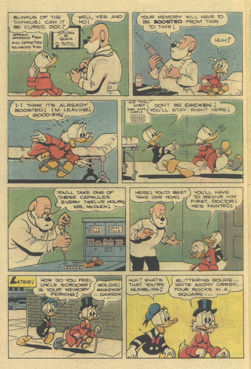 Read online Uncle Scrooge (1953) comic -  Issue #142 - 6