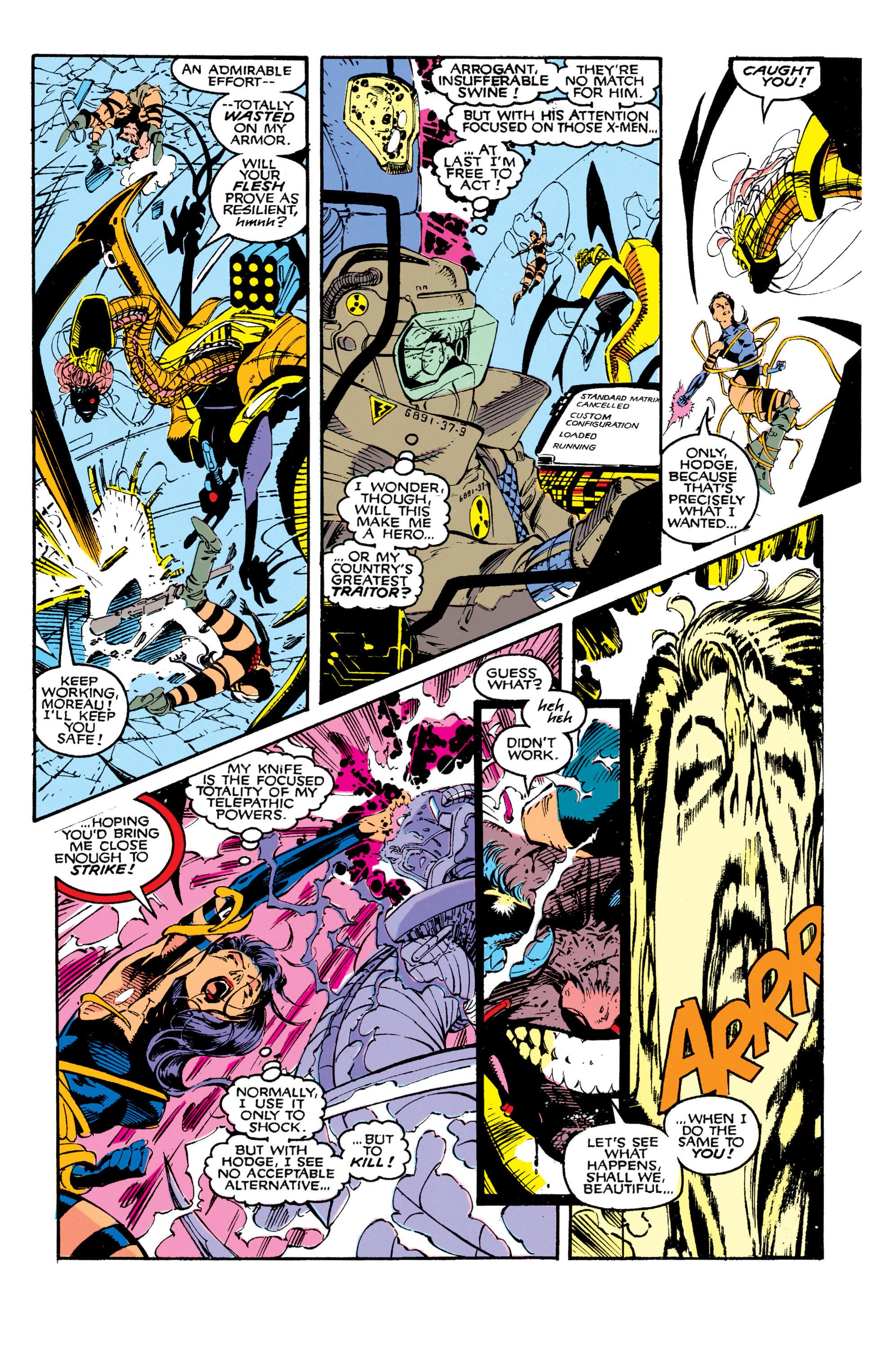 Read online Uncanny X-Men (1963) comic -  Issue #271 - 22
