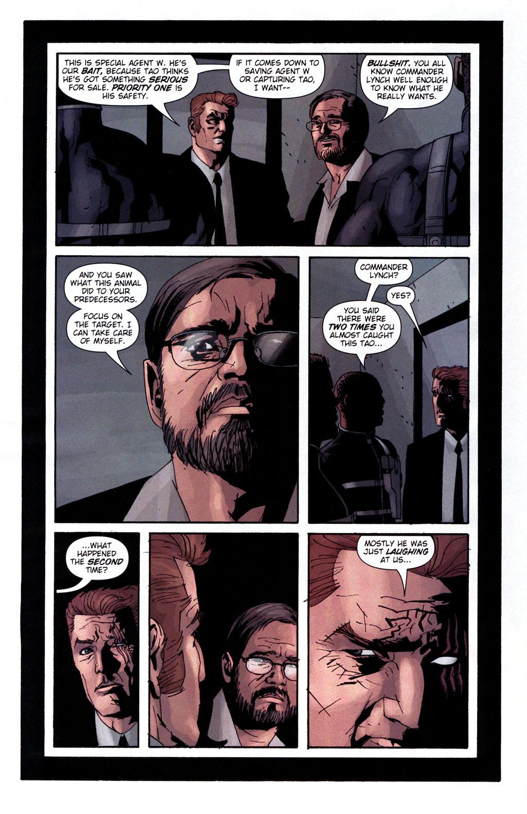 Read online Sleeper: Season Two comic -  Issue #5 - 9