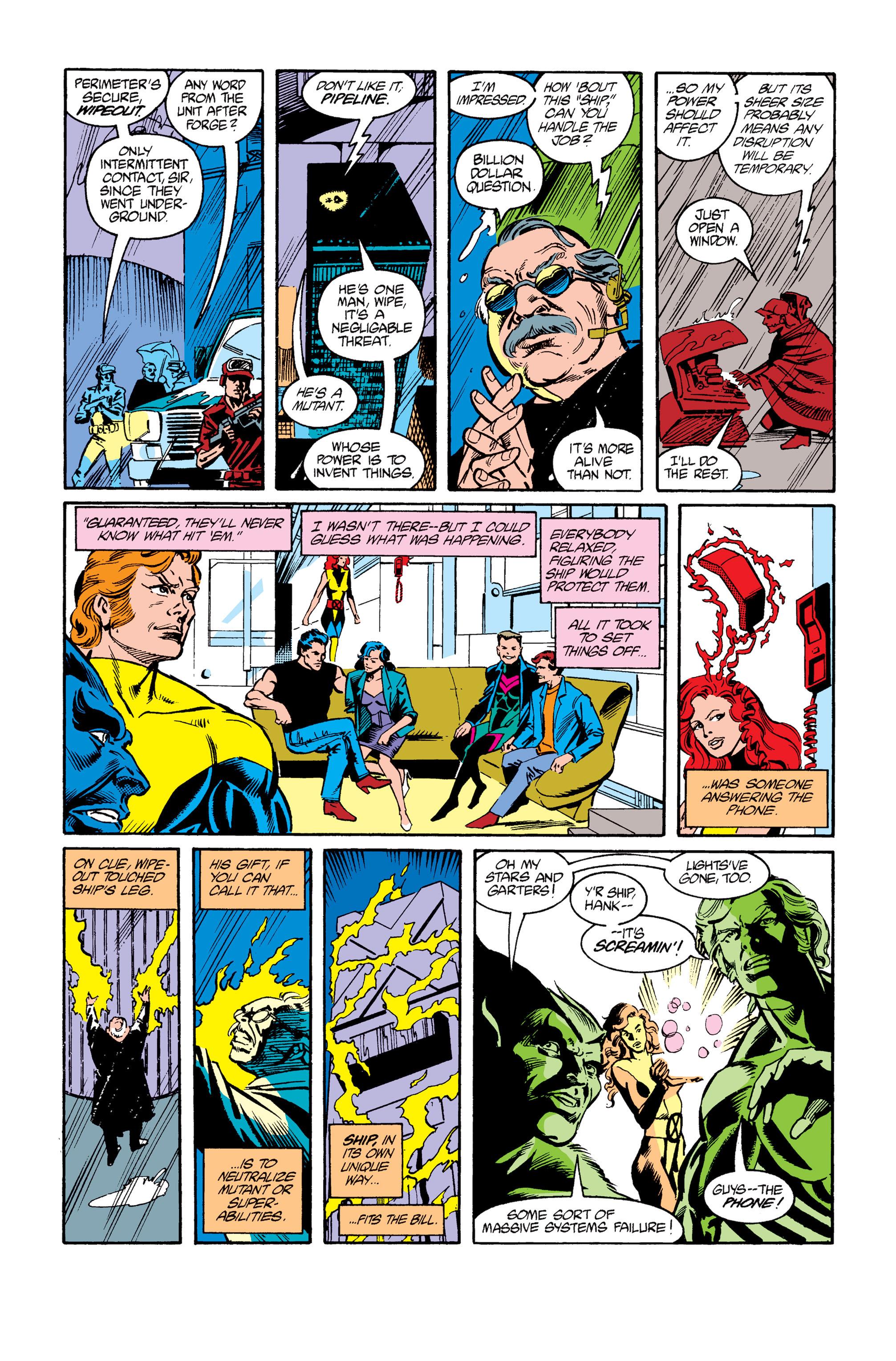 Read online Uncanny X-Men (1963) comic -  Issue #264 - 16