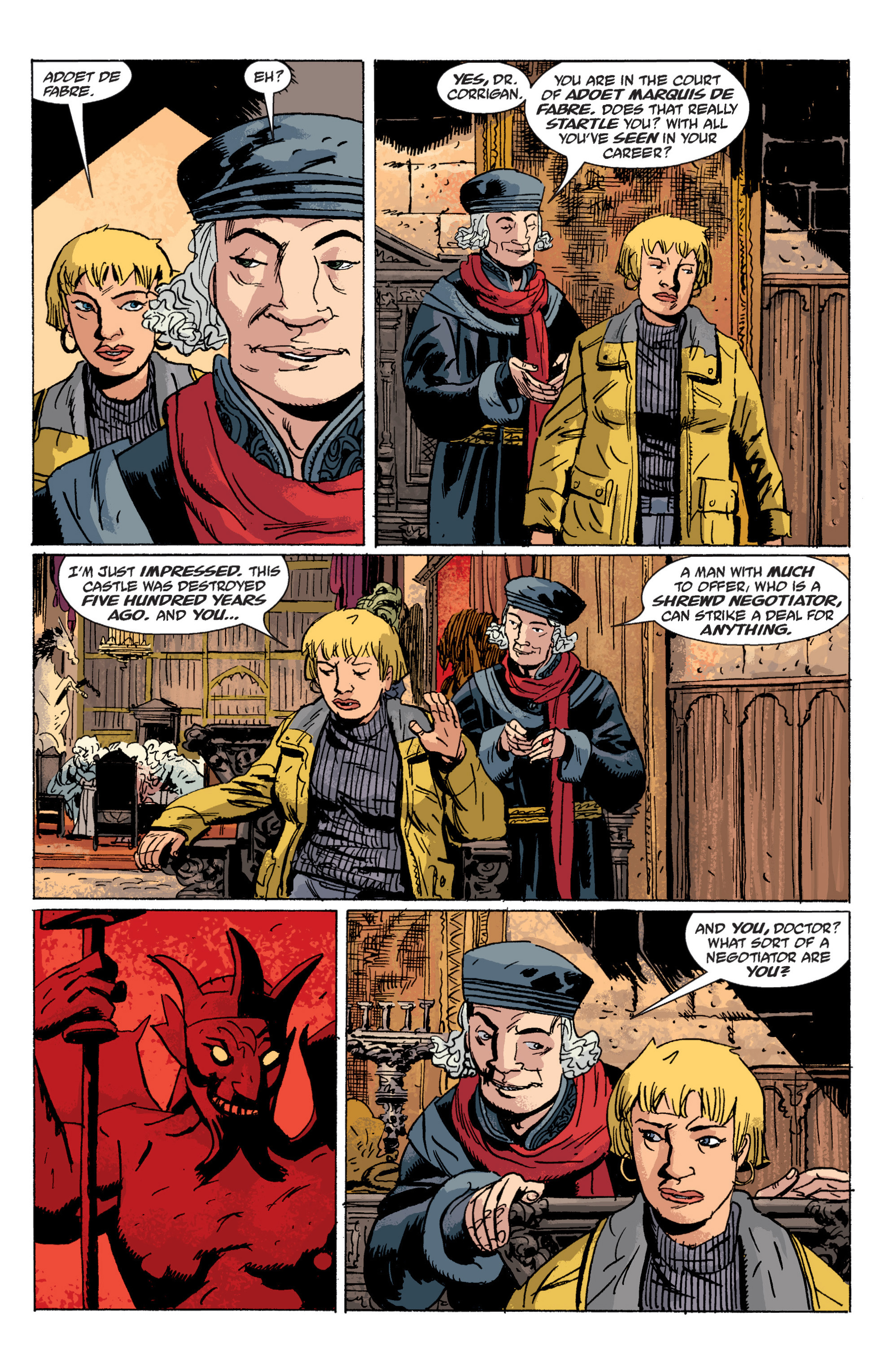 Read online B.P.R.D. (2003) comic -  Issue # TPB 6 - 48