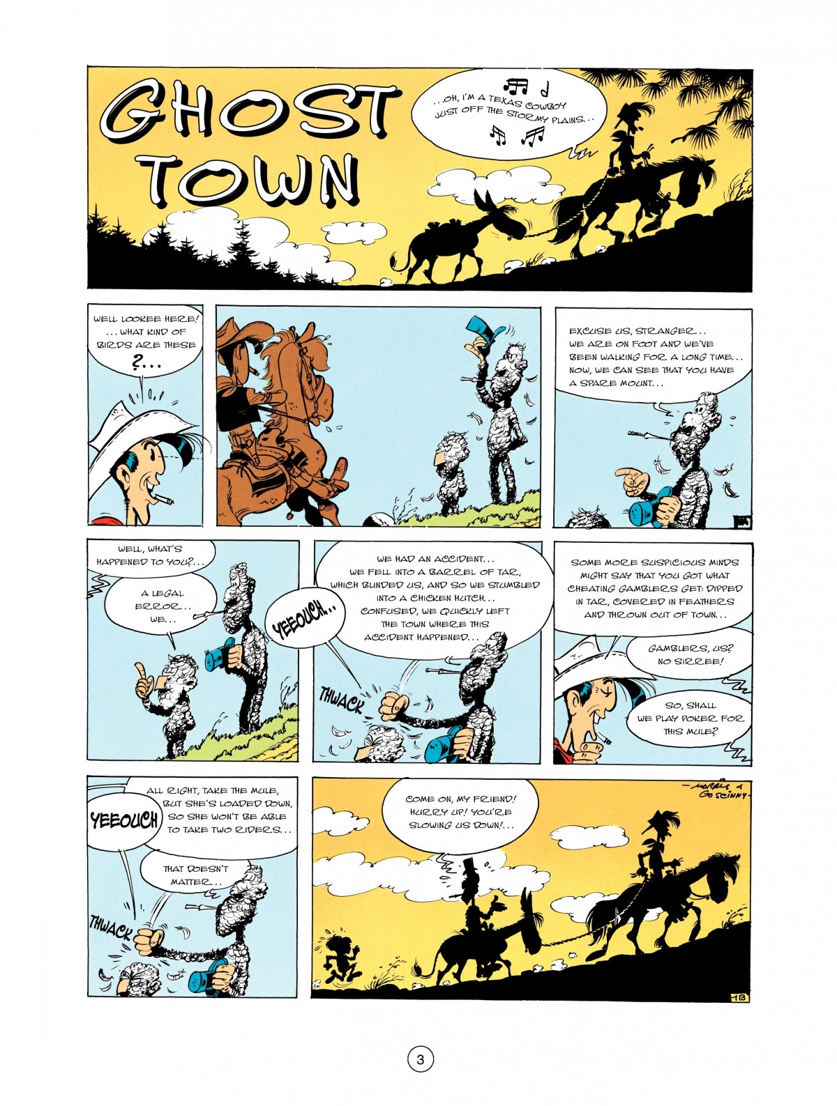 Read online A Lucky Luke Adventure comic -  Issue #2 - 5